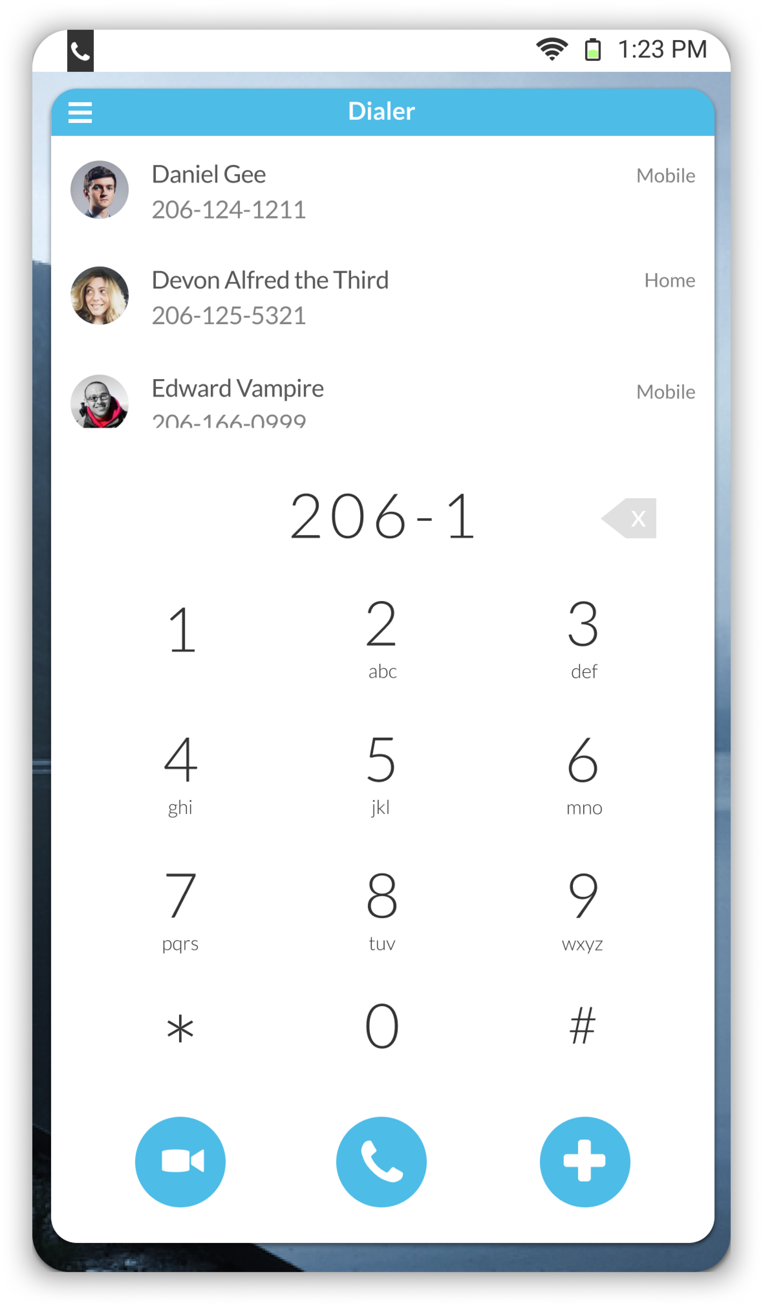 Dialer (Suggestions)