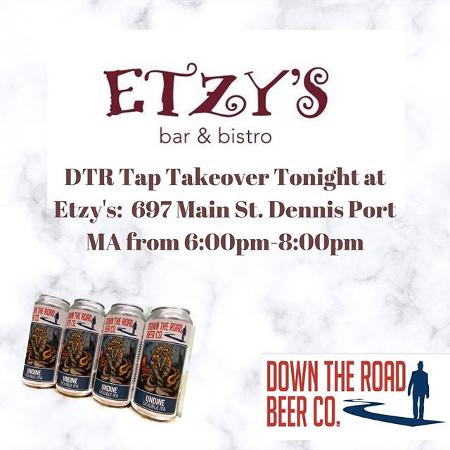 Tap takeover tonight at @etzyswinebarbistro !! Come join us to cure those Monday blues 🍻 #everett #beer #craftbeer #brewery #brew #brewing #alcohol #local