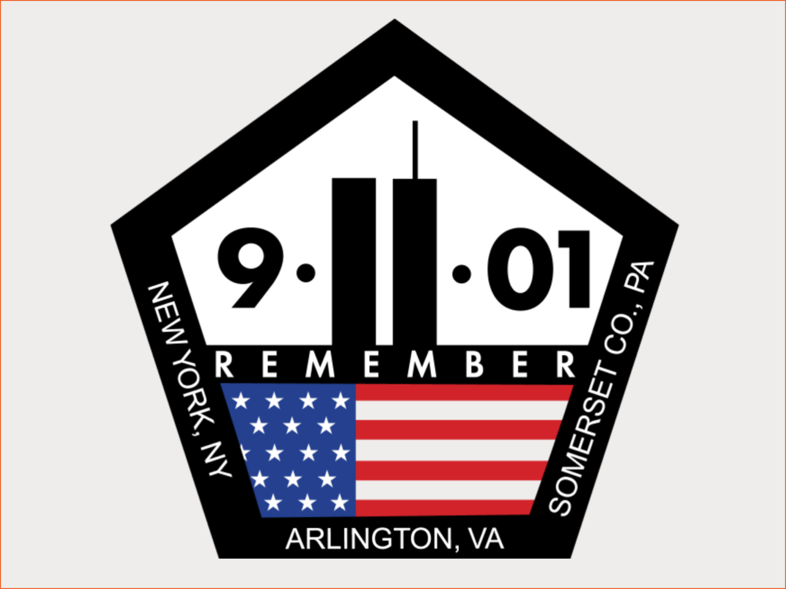 Remember 9/11 logo designer Dave Parenteau