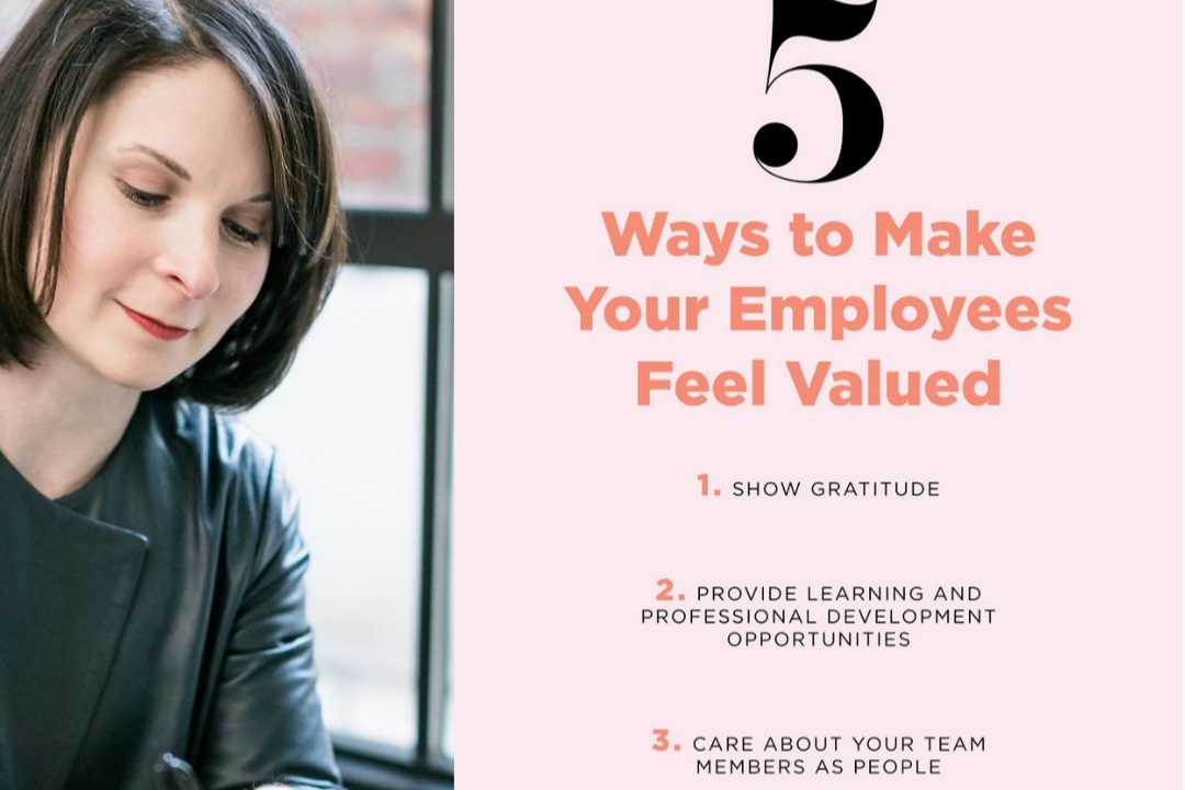 Career Contessa - 5 Ways to Make Your Employees Feel Valued