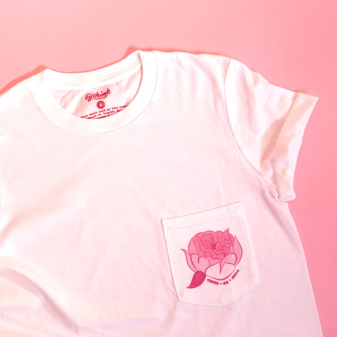eyethink.com  / Thick as Hell Tee $36