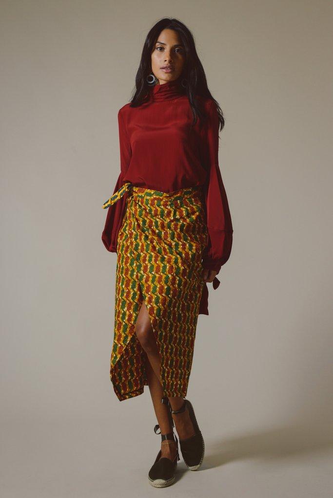 Gawa Wrap Skirt