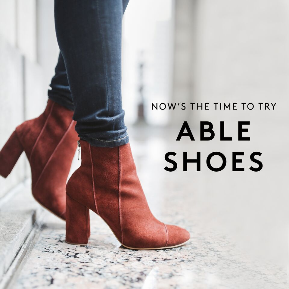 ABLE - LOCAL + GLOBAL- sells apparel & accessories- publishes their wages- creates manufacturing and artisan jobs for impoverished women in Nashville, Tennessee, & Ethiopia