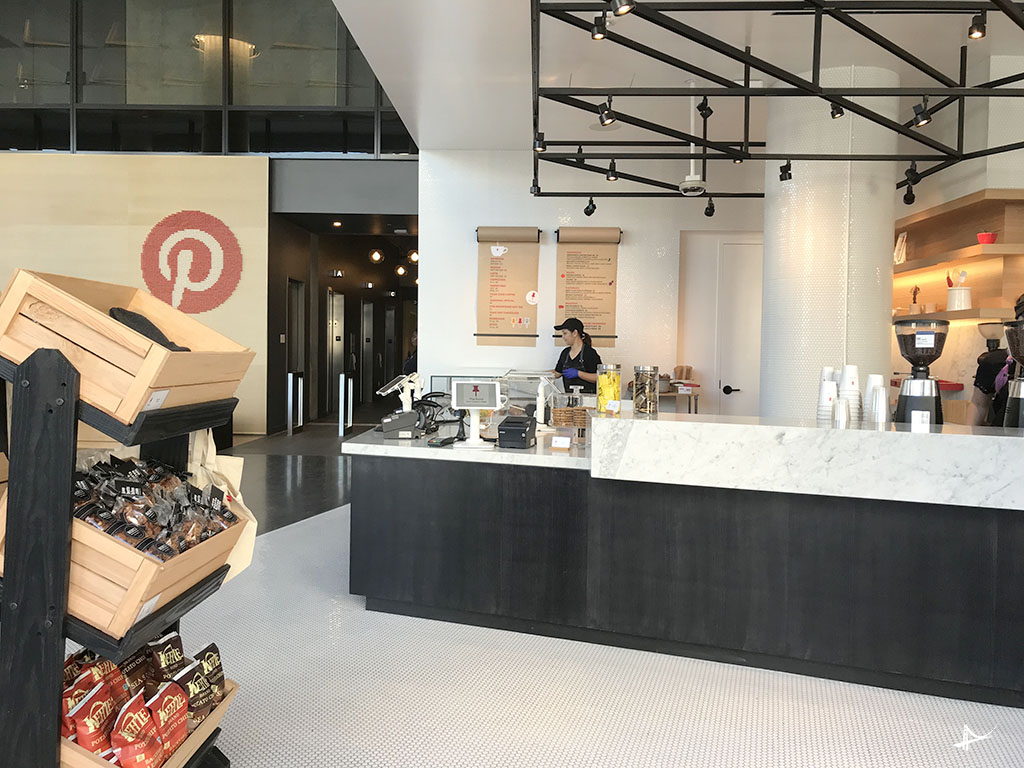 The Point, Pinterest Café, San Francisco, California, 2018.
