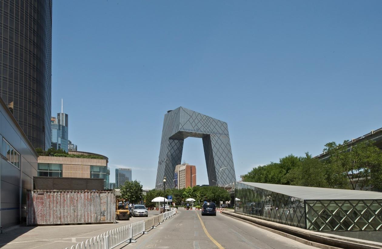 CCTV Tower. Imagen © OMA