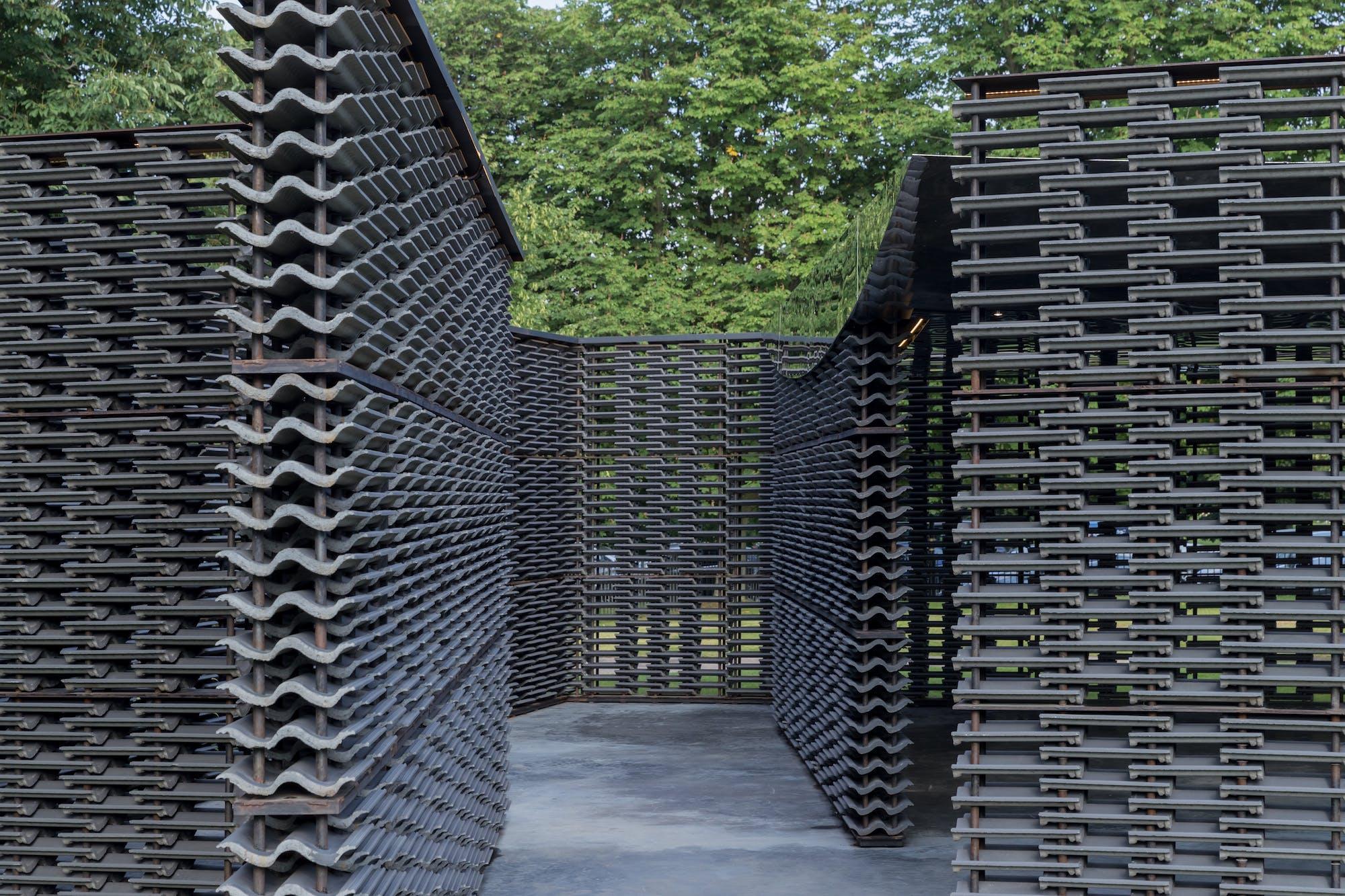 Pabellón de Verano, galería Serpentine, Hyde Park, Londres.