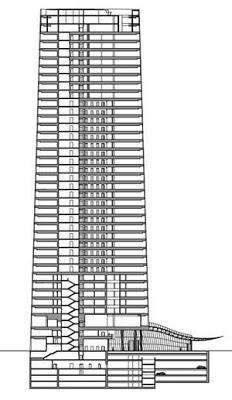 Torre Iberdrola sección
