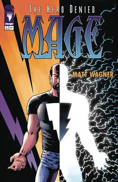 Mage Hero Denied #1 (of 15) - Gib's PickMatt Wagner's Mage Hero Denied is the third volume in the story of Kevin Matchstick.  Kevin is equal parts King Arthur and Matt Wagner (Batman/Superman/Wonder Woman: Trinity)himself.  Matt's art is magical and his story starts with our hero reluctantly pulled into a new world of fairies and dragons.  The second volume, The Hero Defined, sees Kevin assume his role as hero and set himself against the forces of Evil.  The third volume brings the conclusion of Kevin's story, and as Arthur reborn seems destined to end in tragedy.  But, there's always a big helping of hope in Arthur stories, so hold on tight for what will surely be a fantastic conclusion.  Issue #0 and #1 are one the shelves right now, as well as the collections of the first two stories!  One of my favorite series.