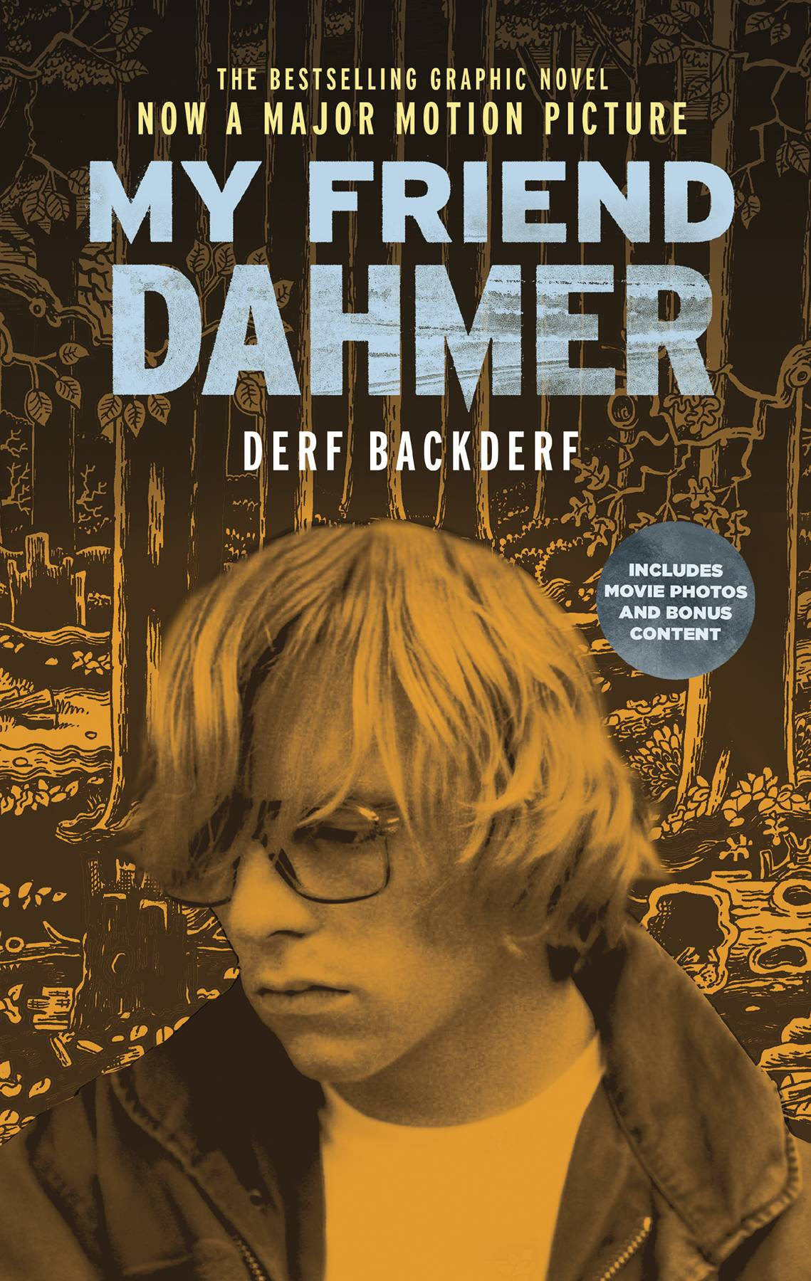 My Friend Dahmer GN - Mike's PickLike a mash up of From Hell and DAZED AND CONFUSED, Derf Backderf's (Trashed) tale of his adolescent pseudo friendship with the notorious serial killer Jeffrey Dahmer is both heartbreaking and horrifying.  While Dahmer is the central figure in the book, he is also just a background character in Derf's own life story.  Had he not gone on to commit such grisly atrocities, he would've merely been one of those oddball outcast kids you every now and then find yourself wondering about, in the cascading years after leaving the pubescent sausage grinder of high school behind.  Dahmer's story, compiled from Derf's own memories and surviving high school memorabilia, as well as from credible news sources such as Dahmer and Derf's hometown Akron Beacon Journal, is told using Derf's more typical middle-American experience as a sort of foil that reveals much more in hindsight.  As much as he was a monster, Dahmer was also merely human.  His parents had a troubled marriage and a bitter divorce, he had a drinking problem, he had trouble coming to terms with his sexuality, he was bullied, he had urges that he couldn't confide to anyone, etc, etc.  This could be the story of any number of teenagers, and yet it isn't.  Derf's expressive and deceptively detailed artwork is also very engaging.  It looks like a cartoonish combination of Charles Burns and Robert Crumb.  Though the story is obviously a very personal one, the artwork being so unique intensified this feeling to a massive degree.  All told, this is a gorgeous book, despite the nature of the narrative.  My Friend Dahmer contains horror, but it is not a
