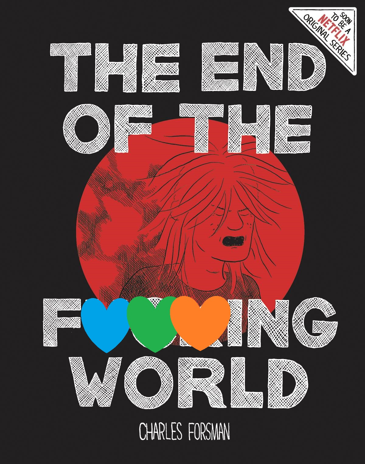 The End of the F***ing World GN - Mike's PickIf you've ever talked to me in the store, you know that I've come to love the work of Charles Forsman (Slasher, I Am Not Okay With This).  So, imagine my excitement when I heard that his graphic novel, The End of the F***ing World, was being turned into a Netflix miniseries!  Though the show is streaming now, I highly recommend reading the source material first.  Rendered in Forsman's minimalist style, the tale recounts the relationship of star-crossed lovers, one a jaded and wounded rebel, the other a possible budding sociopath.  Despite the cartoony look of the piece, Forsman weaves a palpable tone of alienation and bittersweet young love.  Also, there's murder.  And Satanism.  The heavy subject matter and the deceptively simple artwork combine for a flavor that is both compelling and unsettling.  Violent, though not excessively so, and featuring some dark humor, The End of the F***ing World is yet another example of why anything Forsman makes is a must-read.  Fantagraphics have recently gone back to press to meet the increased interest from the show, so grab the book today!