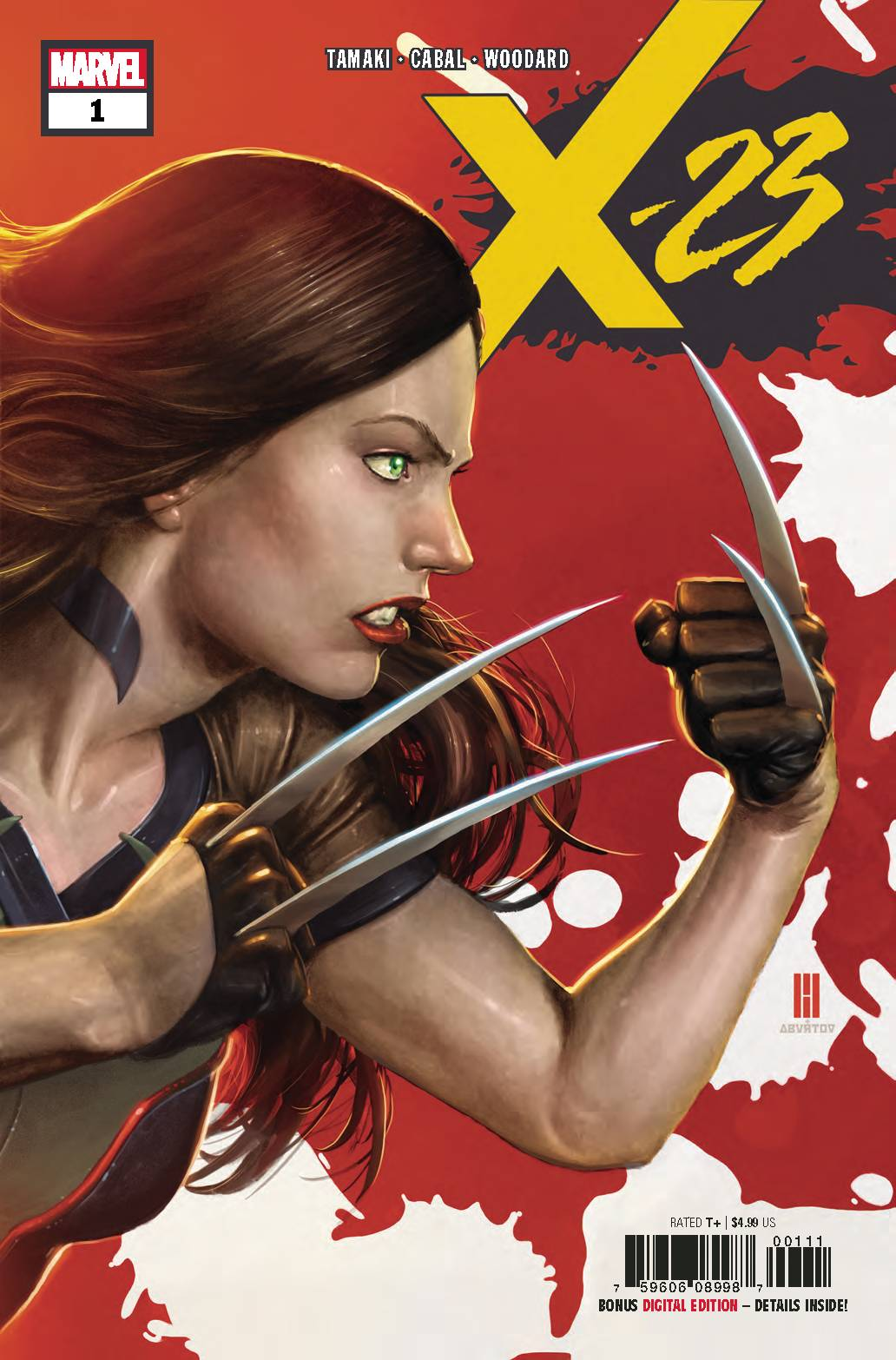 X-23 #1 - Lauren's PickWriter: Mariko TamakiArtist: Juann CabalColorist: Nolan WoodardLetter: VC's Cory PetitFollow Laura and her newfound sister to a new adventure in X-23 #1! Despite their efforts to curb the effects of the Weapon X program, more clones appear and Wolverine DNA continues to be used to turn mutants into unstoppable super soldiers. Now, Laura and Gabby go on the search for a missing geneticist whose disappearance has sinister implications. I really don't want to spoil the rest of this excellent comic, so let's just say some familiar faces (or iterations of the same familiar face) play a significant role as the story moves forward. I never get excited enough about superhero comics to choose them for my staff pick, so you know this one must be good! Check it out NOW!