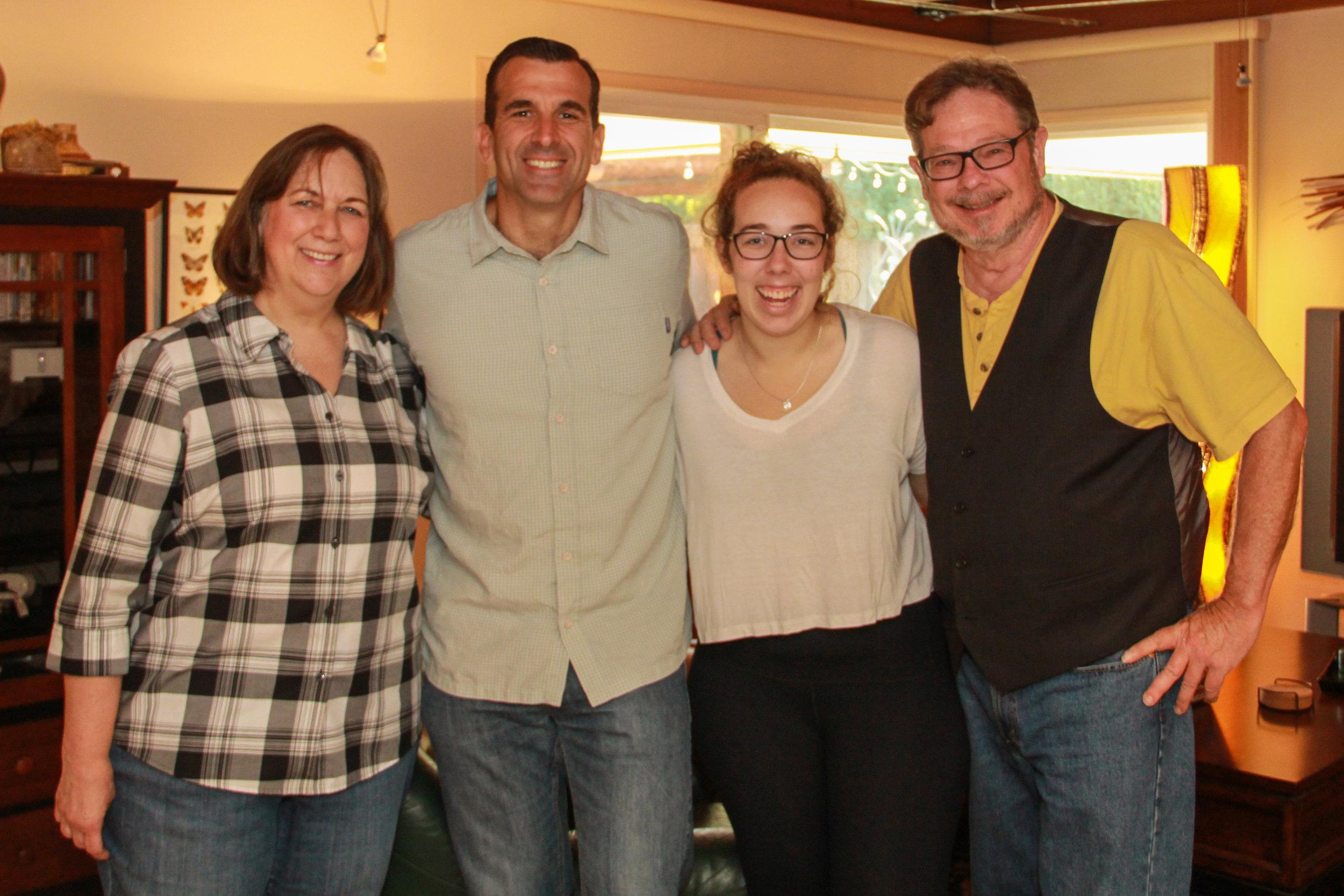 Foley Family & Mayor Liccardo