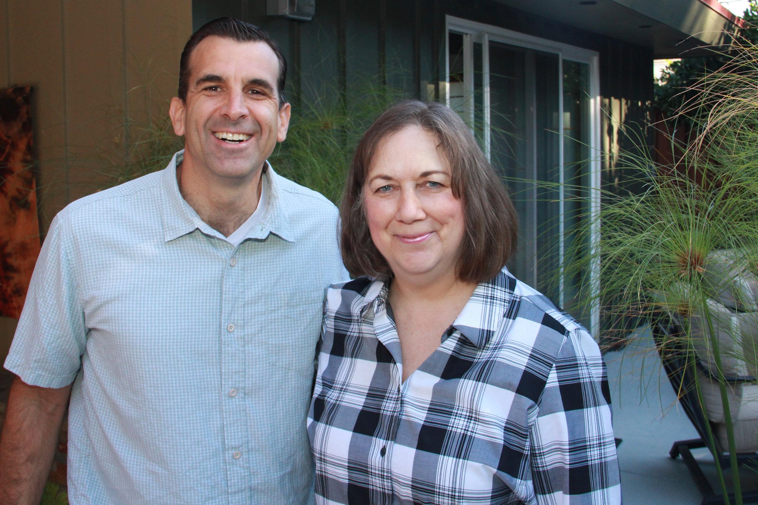 Mayor, Sam Liccardo & Trustee, Pam Foley