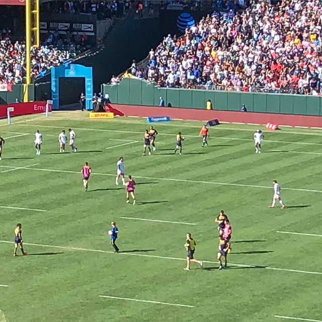 Cool to see some of the jerseys we printed in action at Rugby 7s! Congrats to the @allblacks7s!