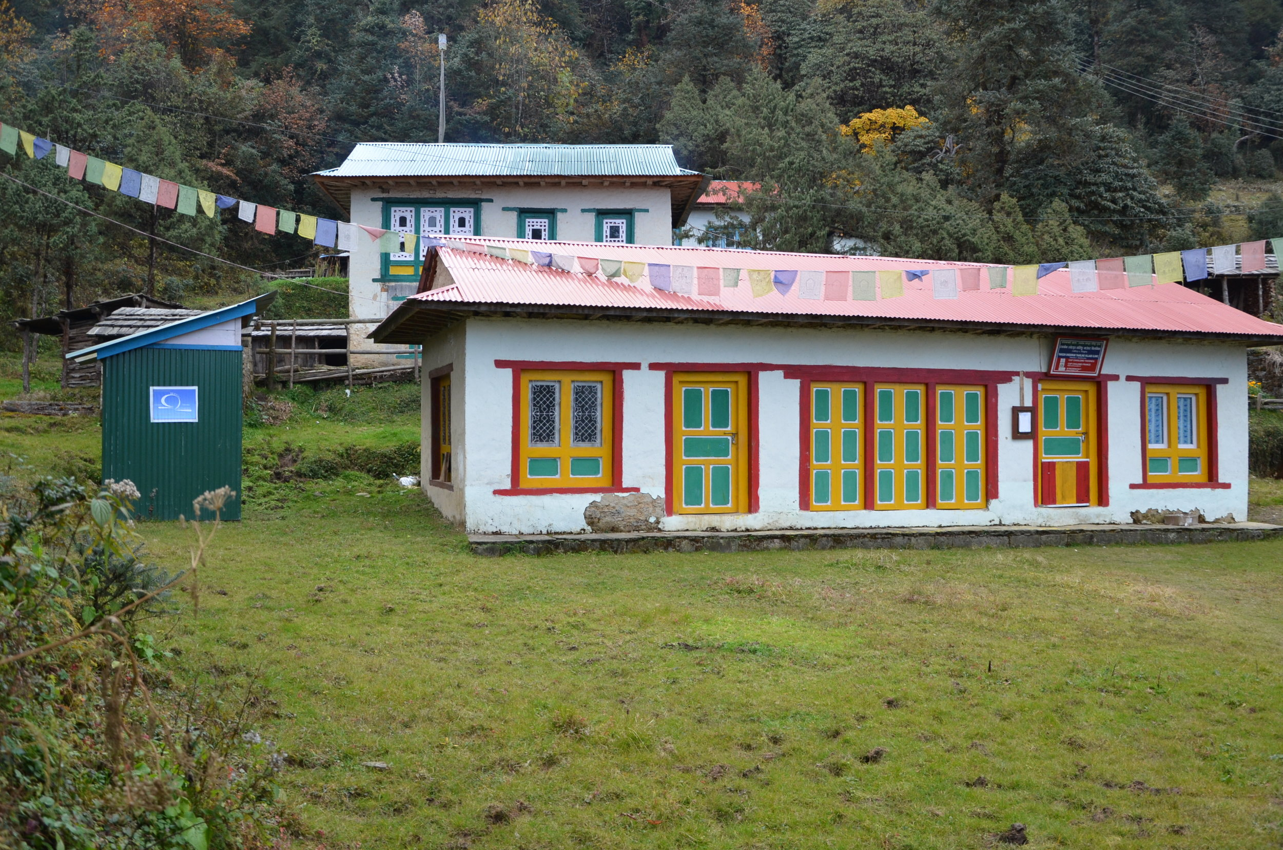 Cold Storage Taksindu Monastery