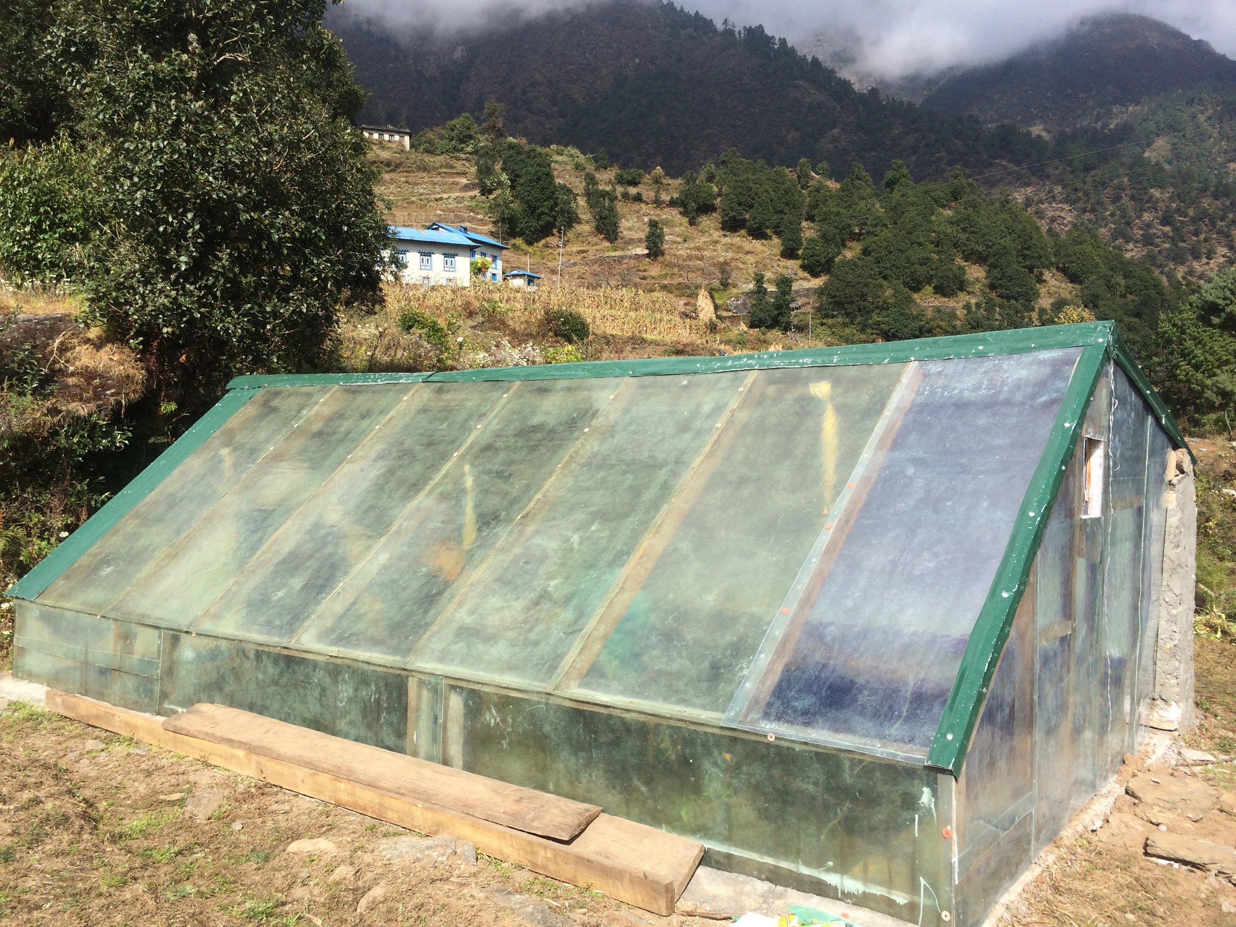 Solar Greenhouse 1