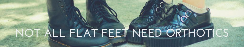 orthotics flat feet