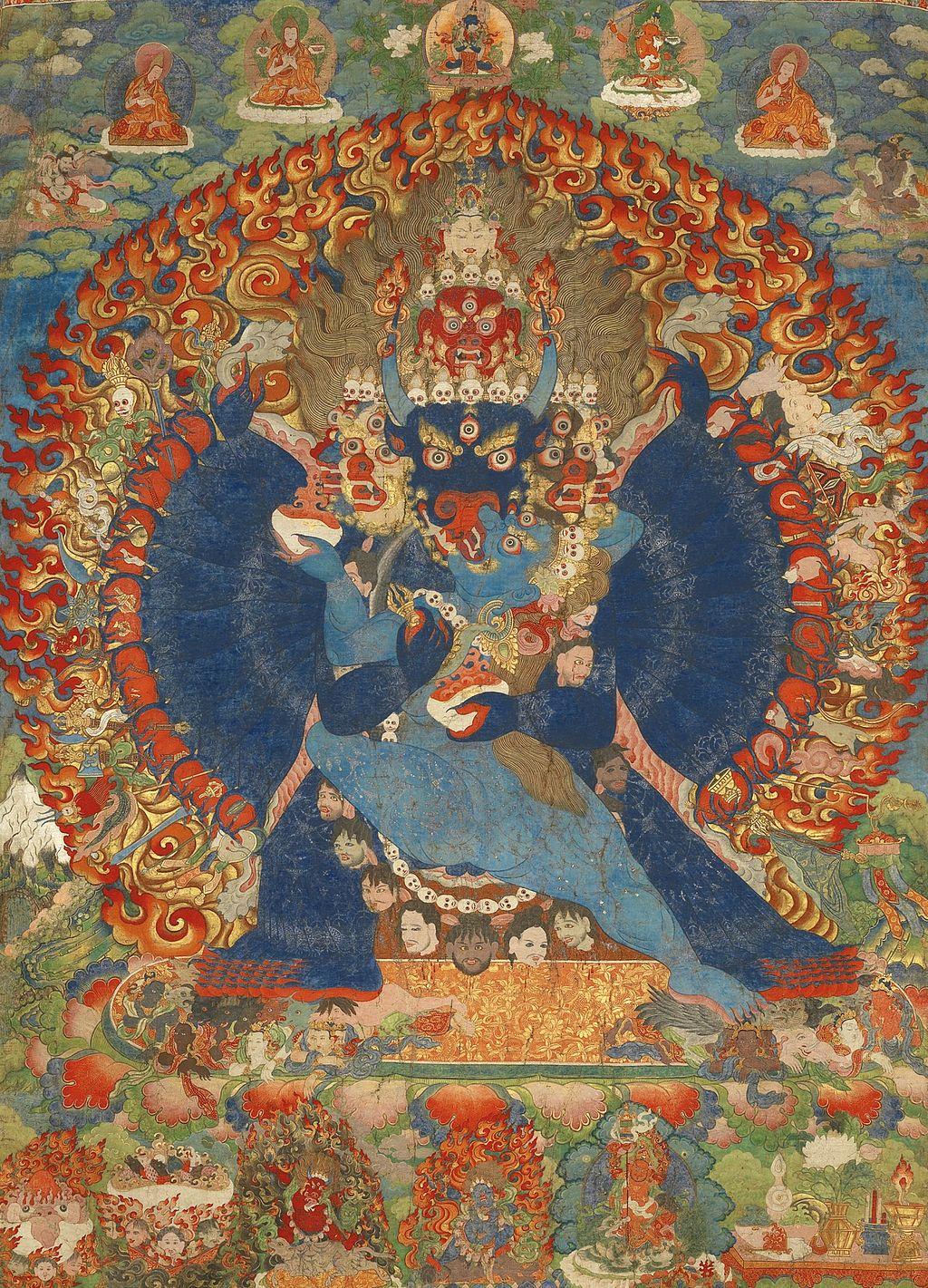 Thangka_Depicting_Vajrabhairava,_ca._1740