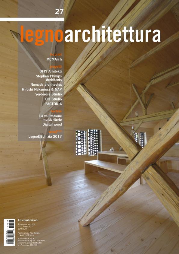 """""""Un Volume Nero a San Francisco""""   Legno Architettura Magazine 27 (April 2017): 20-29    download pdf"""