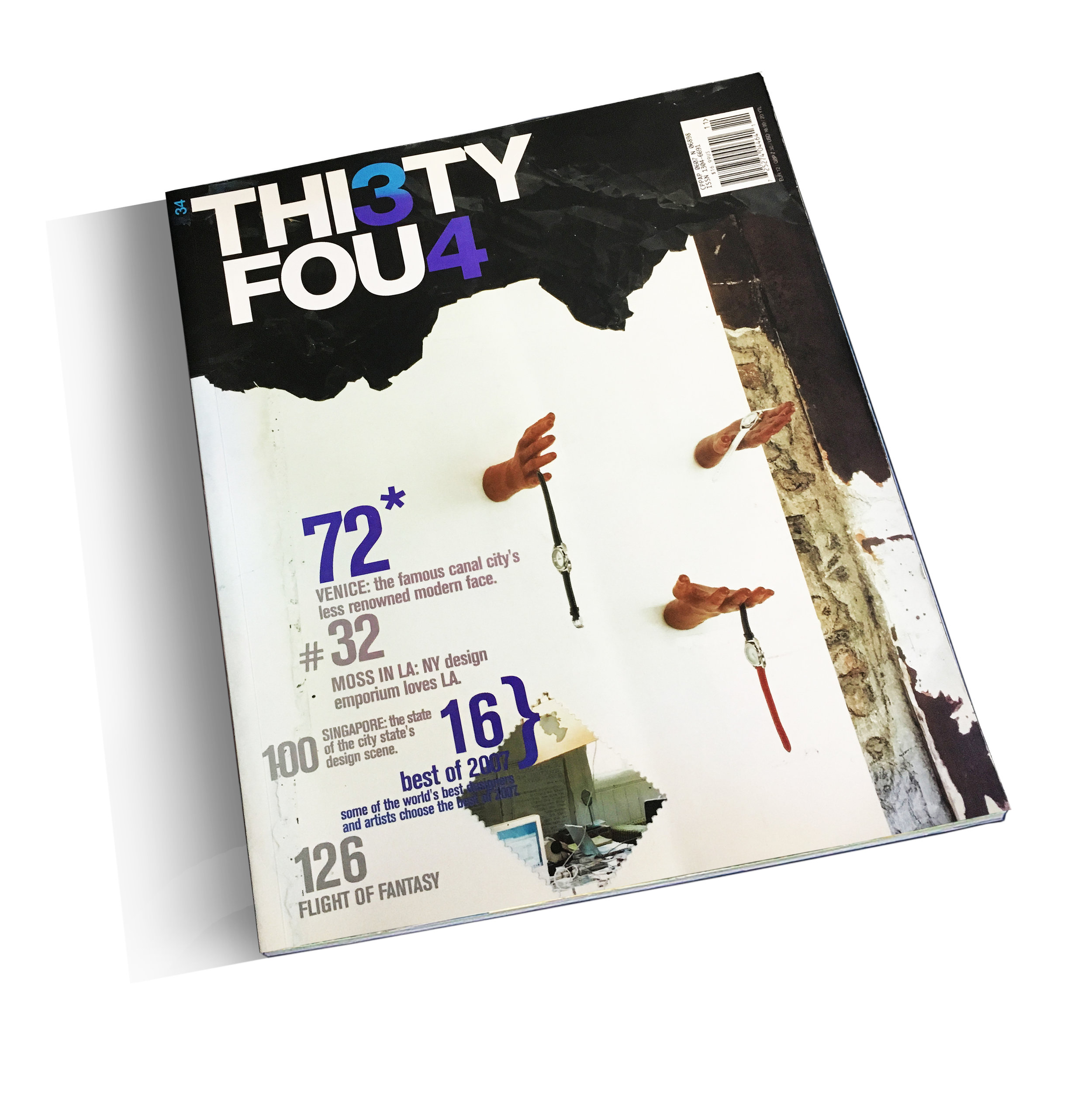 """""""Big, Vast, Powerful, and Contemporary: Picturing Education in LA""""   Thi3ty Fou4 Magazine 11 (October 2007): 160-165    download pdf"""