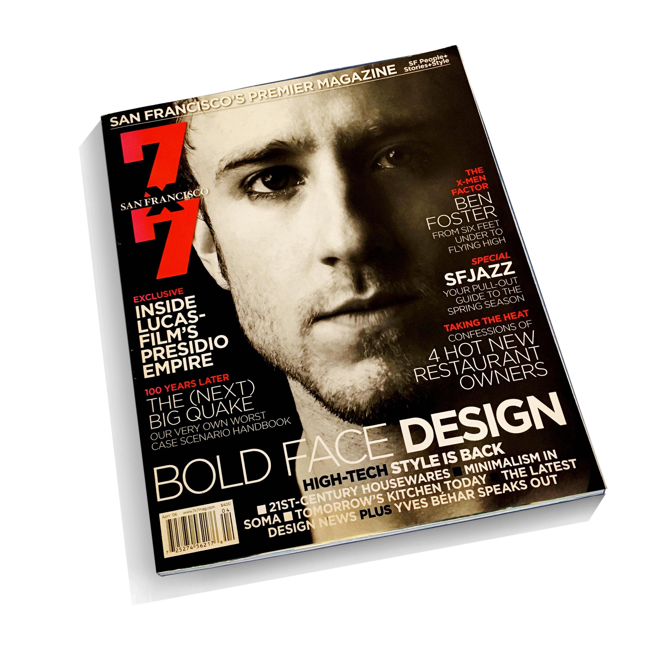 """""""SEBO""""   7x7 Magazine (April 2006): 86    download pdf"""