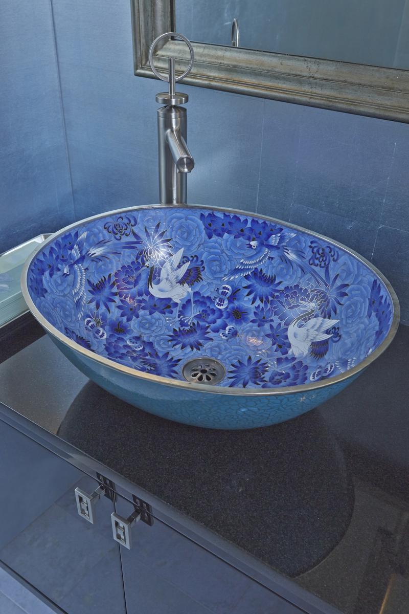 Printed hand washing basin
