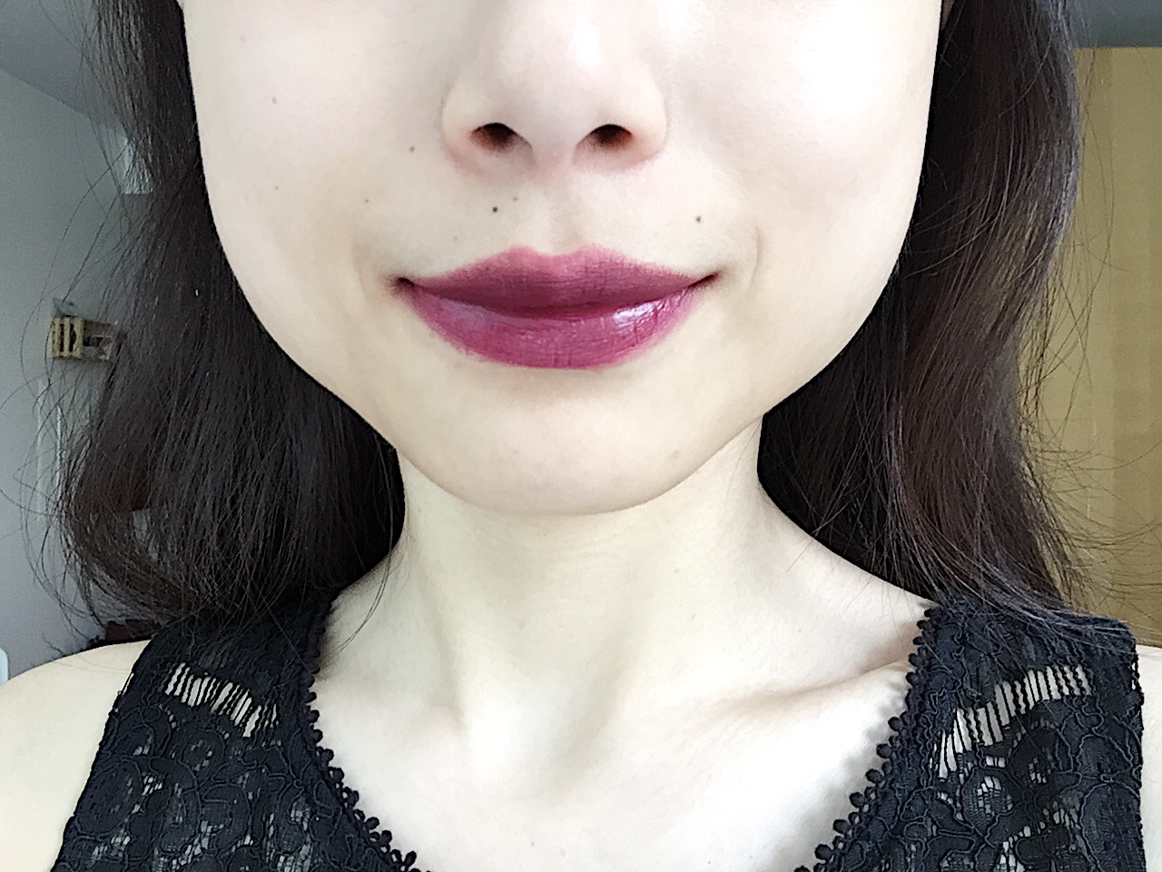 3CE LIP COLOR-#604 (VAMP) - This  lipstick is from a Korean clothing brand called STYLENANDA, which has a sub cosmetics line called 3CE. I would say that it's the Korean equivalent of TOPSHOP. Vamp is in a shade of dark purple and is semi-matte. Because this shade is on the cooler side, I find that it often washes my skin out and doesn't look the most flattering with my skin tone. I find this very easy to work with and very versatile. You can cover your entire lips with several coats for a dramatic, vampy look, or apply it to the insides of your lips and blend it out to the outer corners for a more everyday look.