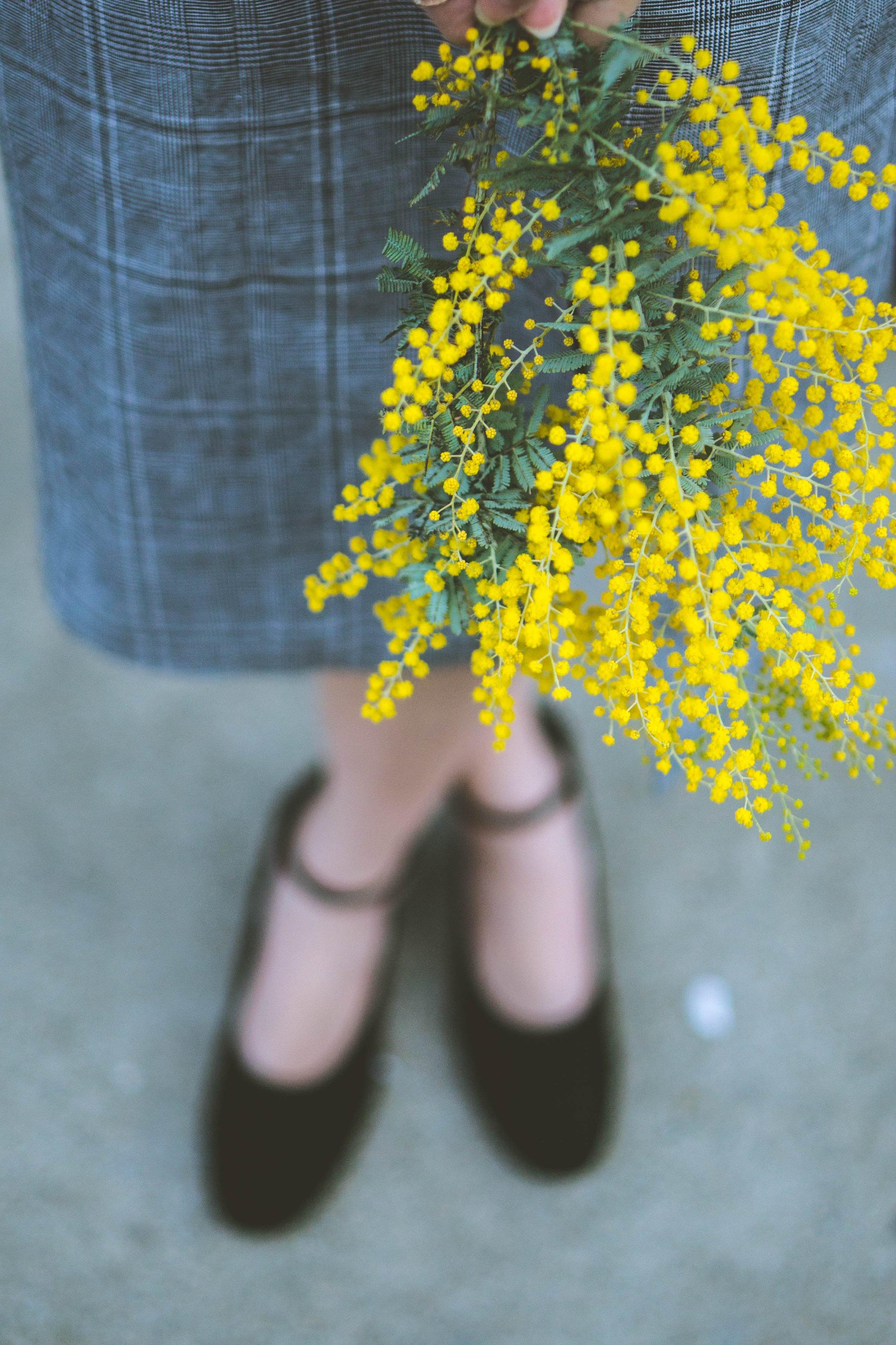 The Eggie Miss Honey Dress, Shoes: Sigerson Morrison