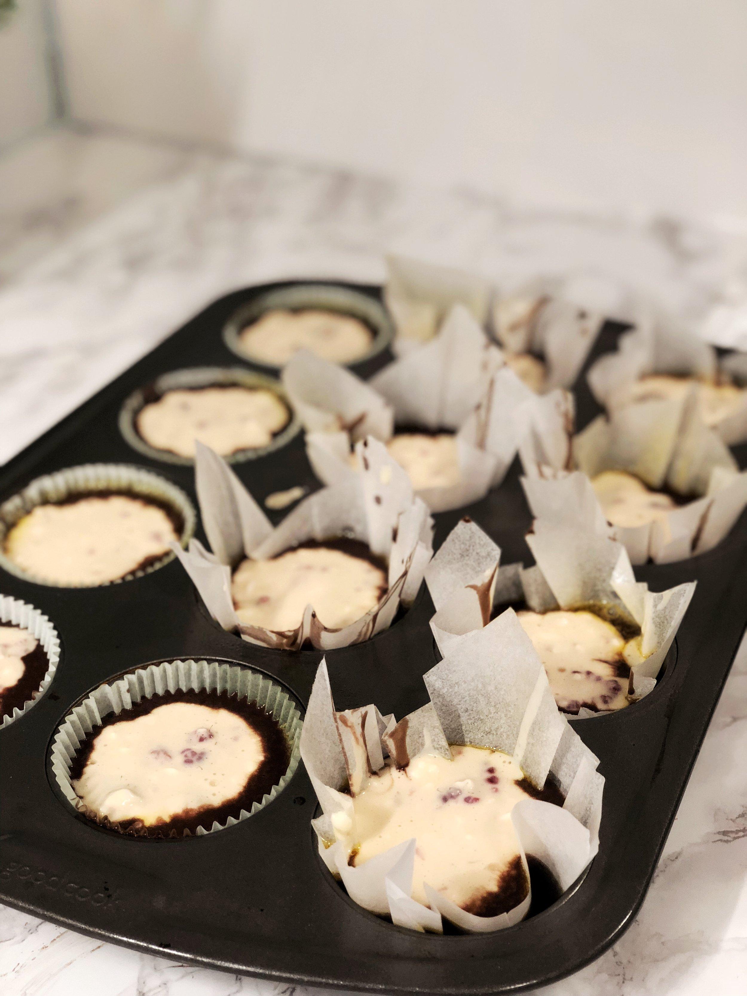 Raspberry Cheesecake Chocolate Cupcake Recipe