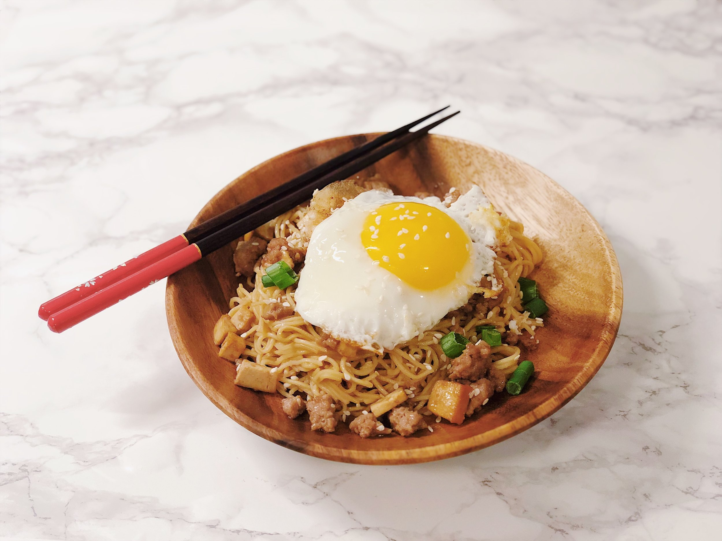 Simple Chinese Cold Noodles
