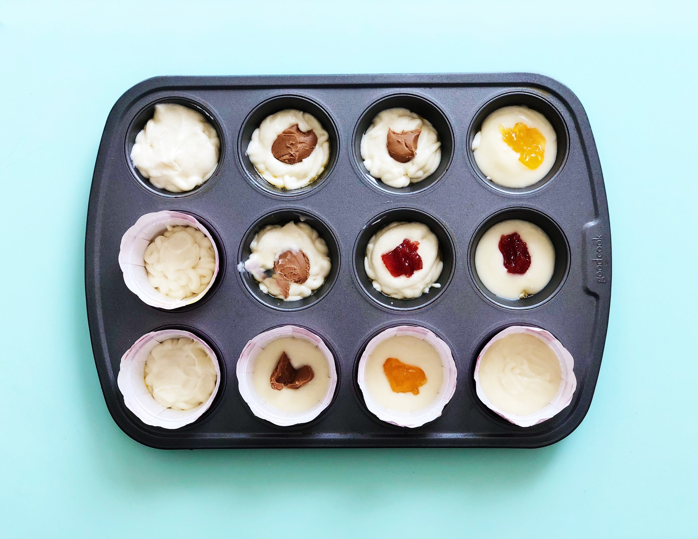Mochi Cupcakes - assorted flavors