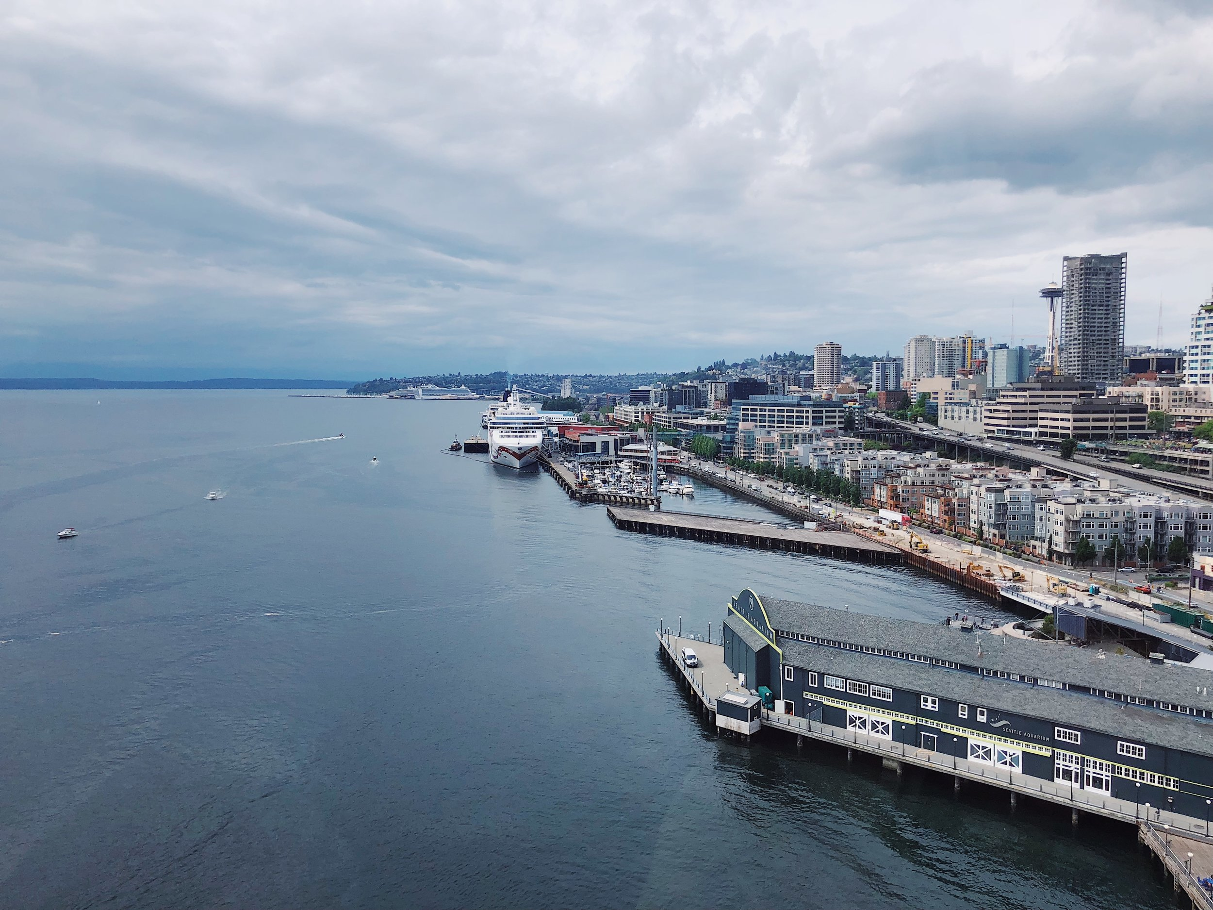 10 Fun things to do in Seattle + Vlog (Seattle Great Wheel)