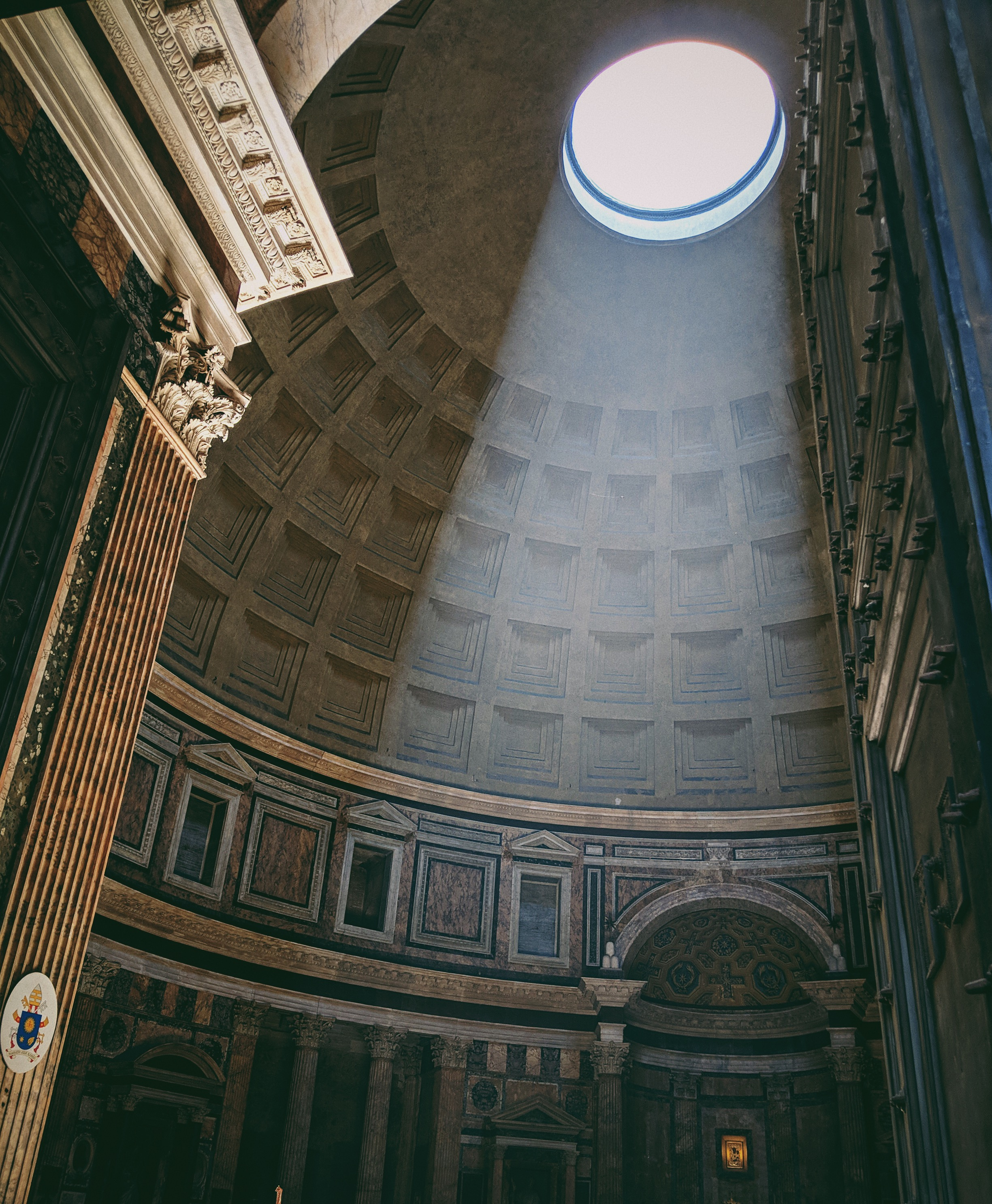 The Pantheon in Rome | Italy Travel Diary + Vlog Part 1