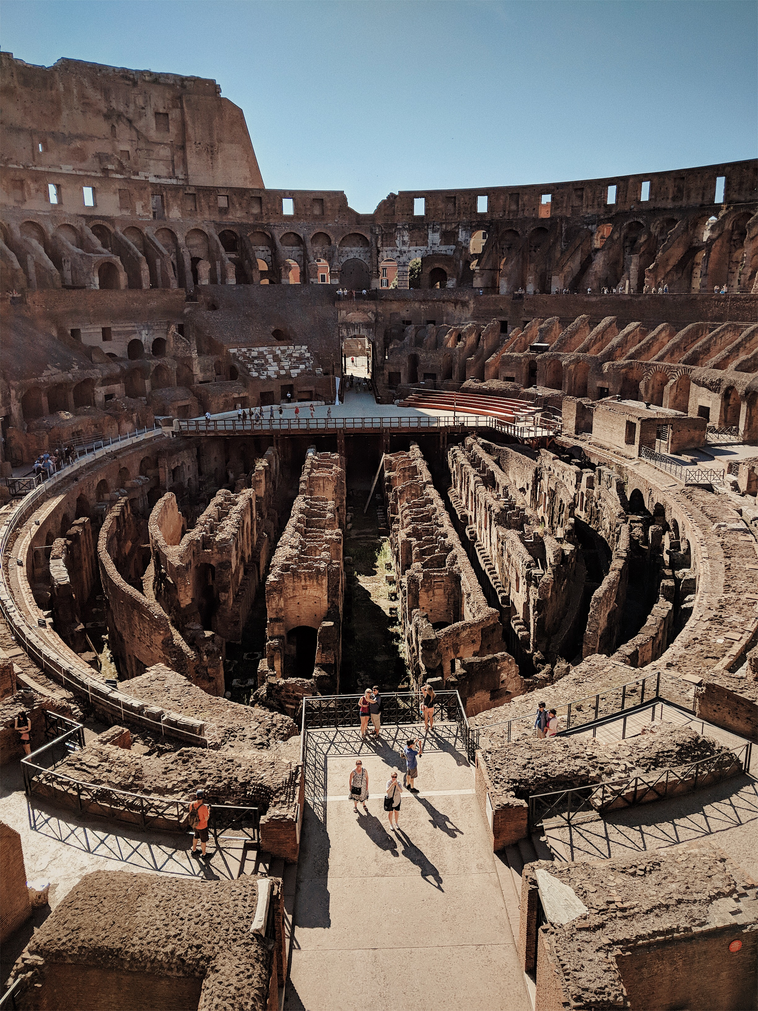Inside the Colosseum in Rome | Italy Travel Diary + Vlog Part 1