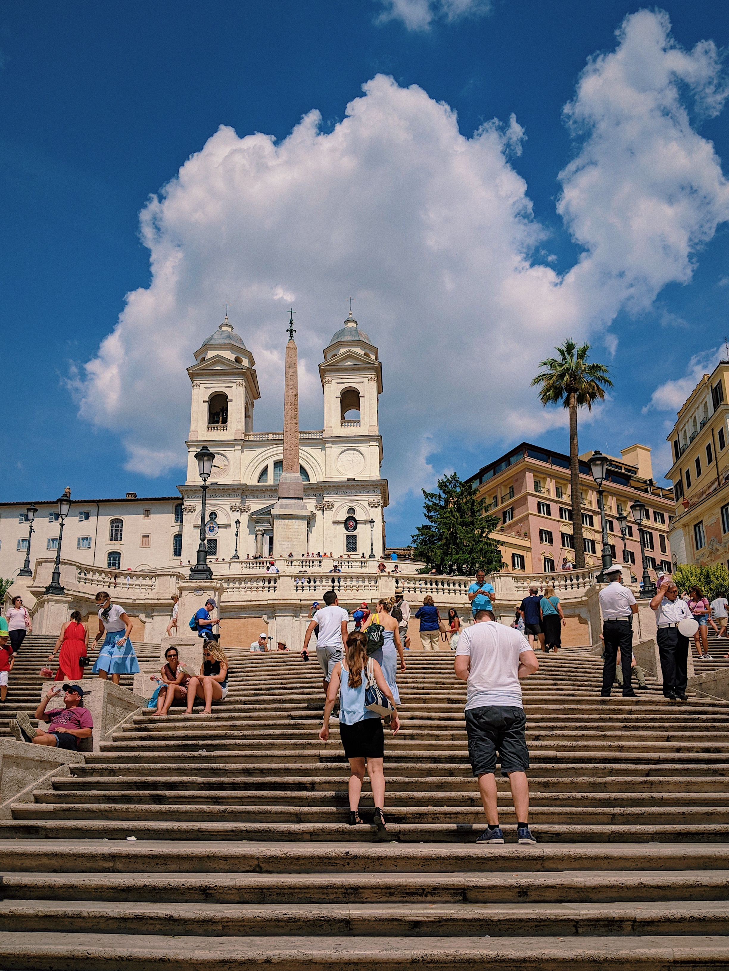 Spanish Steps in Rome | Italy Travel Diary + Vlog Part 1