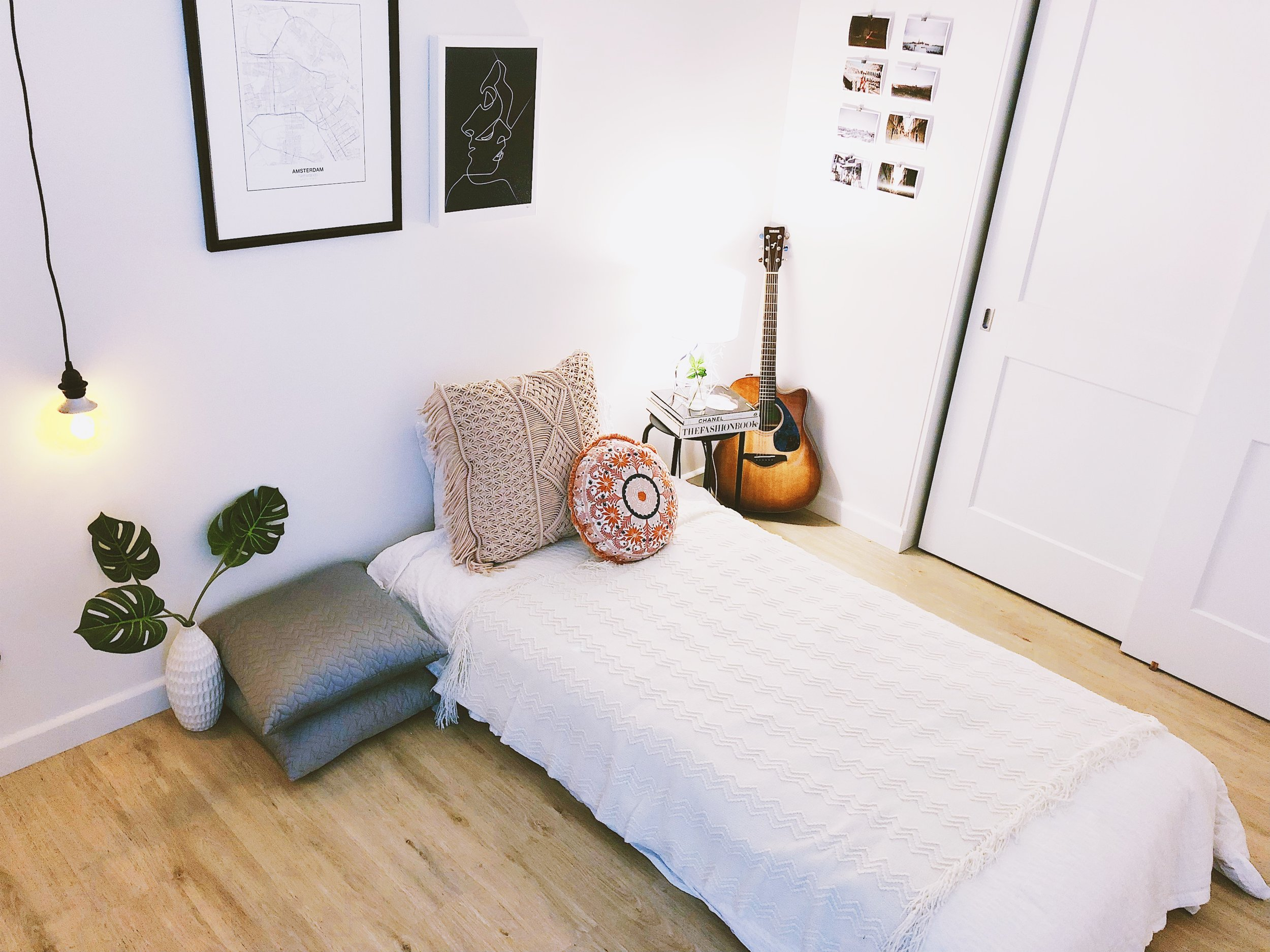 San Francisco Apartment Tour - Bedroom