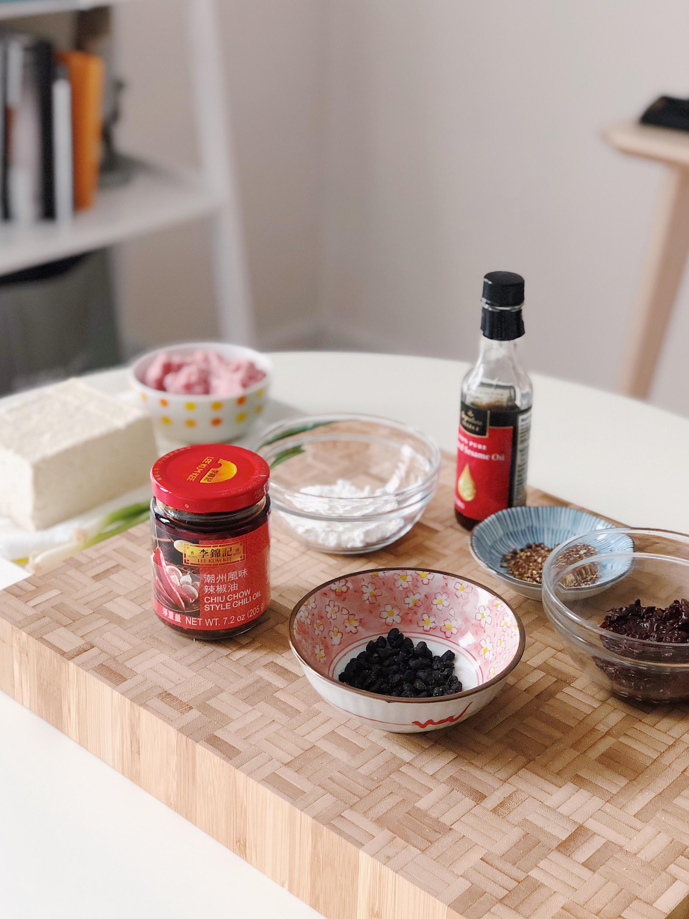 Mapo Tofu - Mom's Recipe