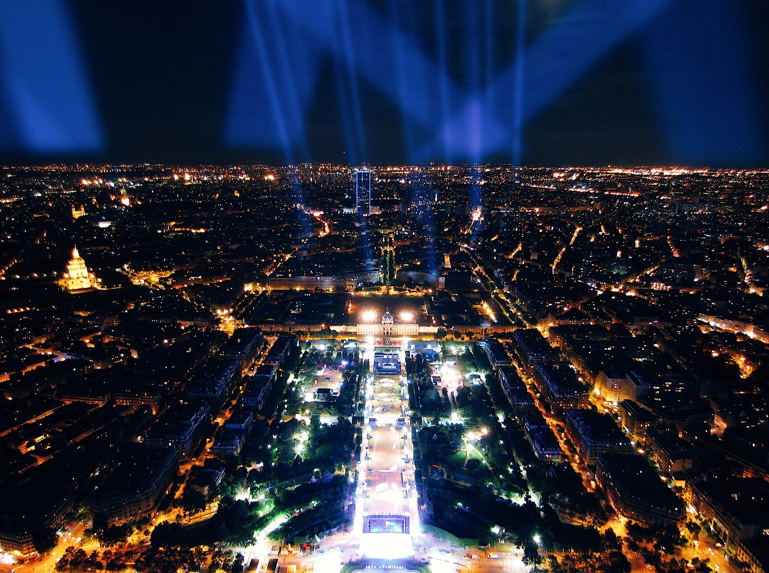 The Paris Bucket List - top of the Eiffel Tower