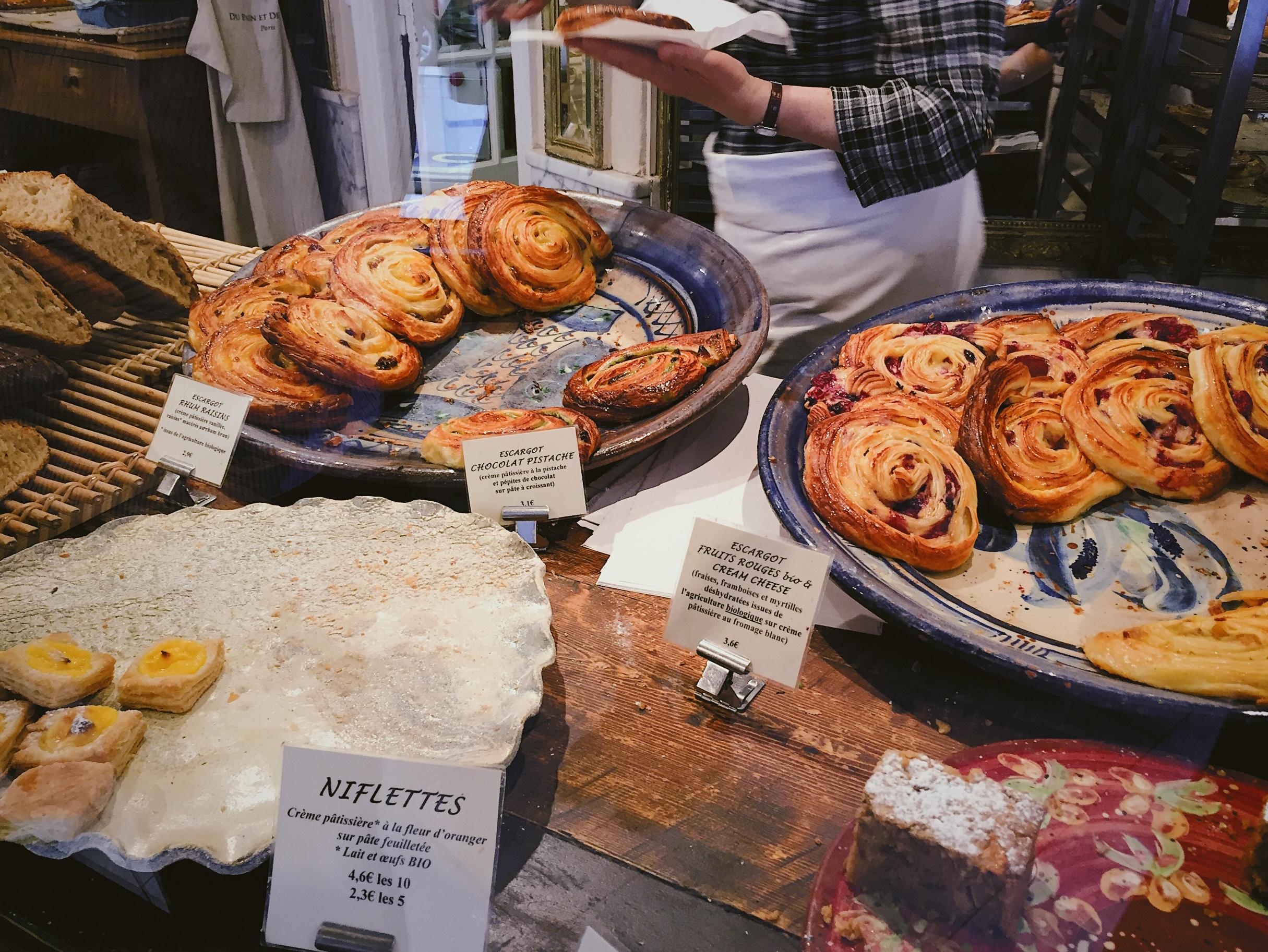 Paris Bucket List - the best pastries at Du pain et des Idees