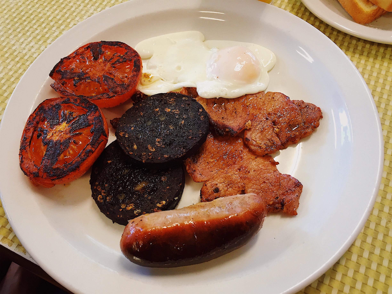 London in 24 Hours - Full English Breakfast