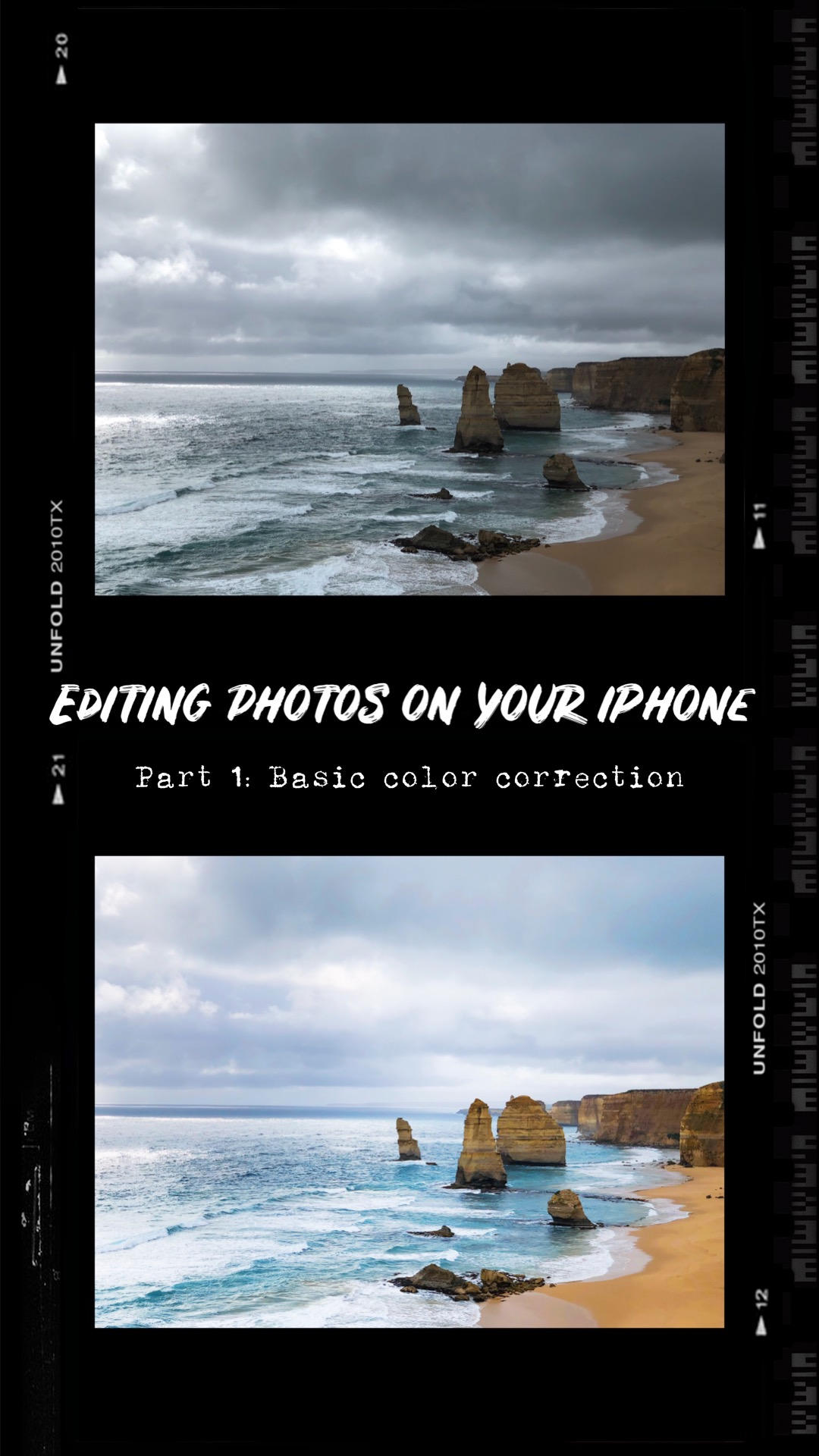 Editing photos on your iPhone — Part 1: Basic color correction