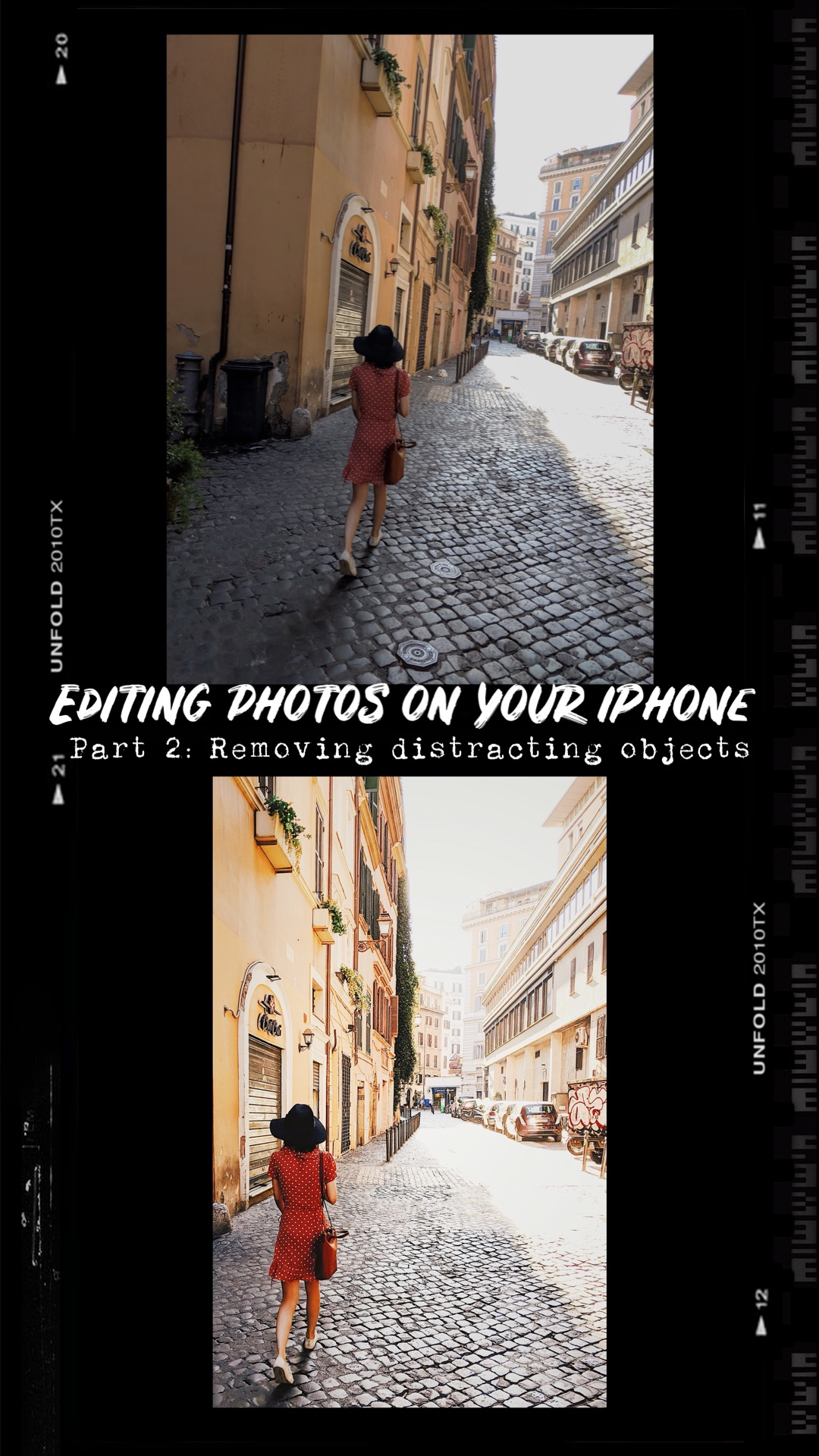 Editing photos on your iPhone — Part 2: Removing distracting objects in travel photos