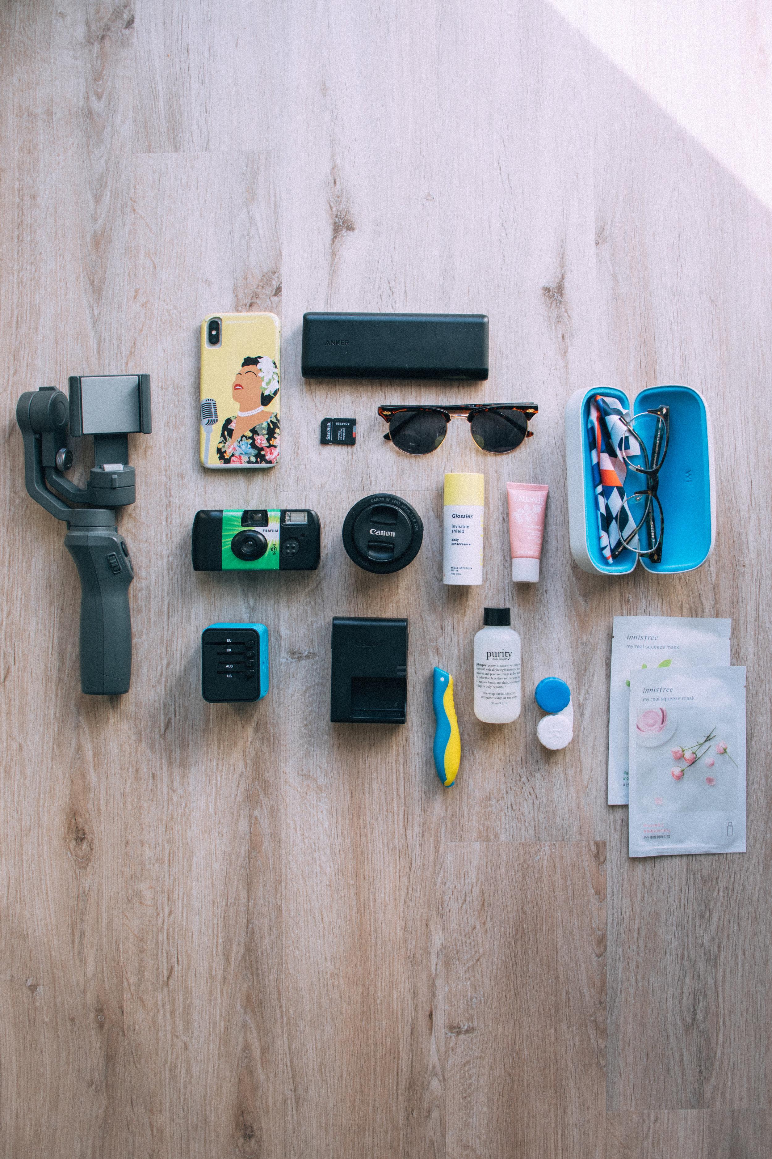 My Travel Essentials