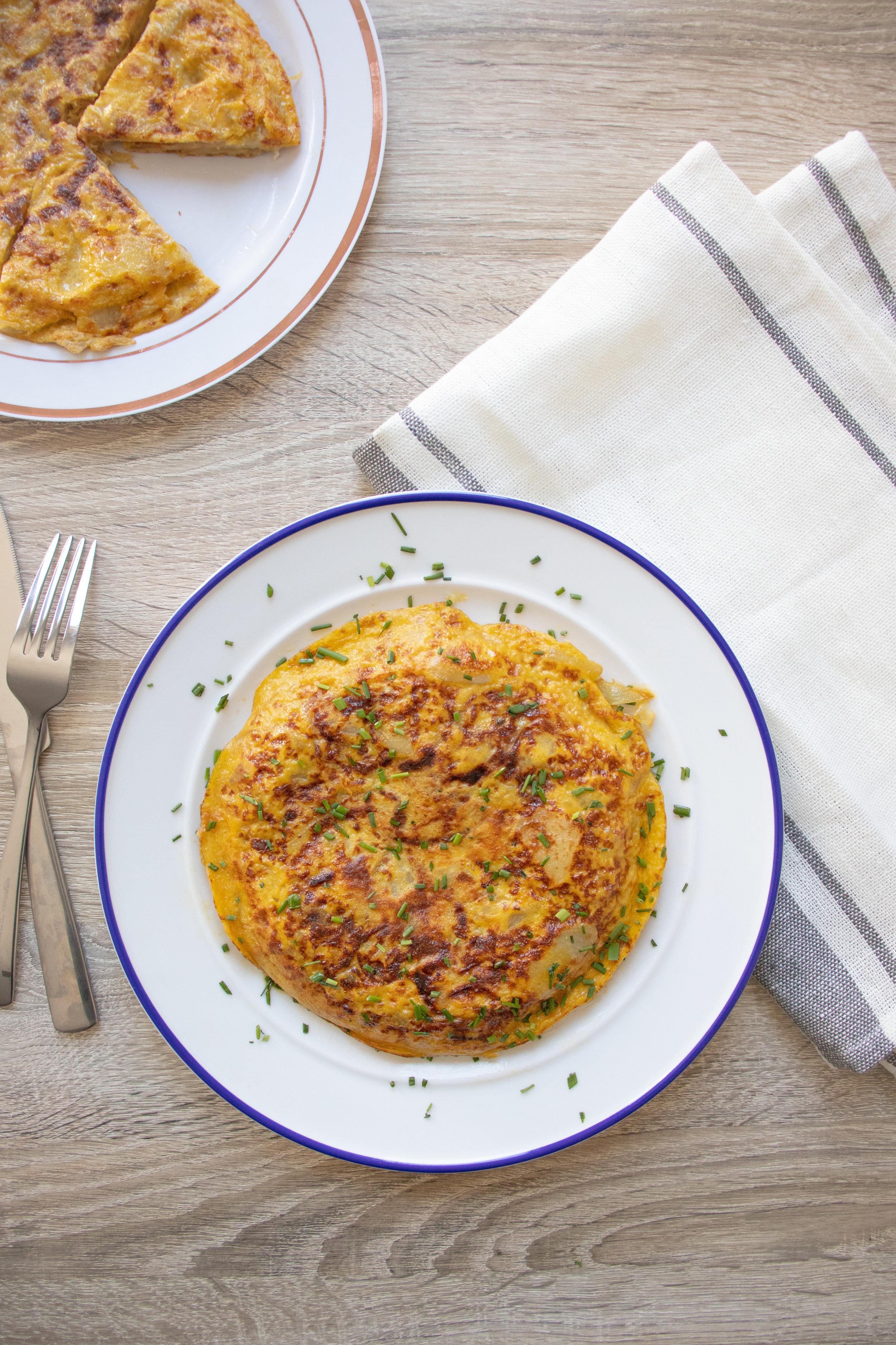 Tortilla Española (Spanish Omelette)