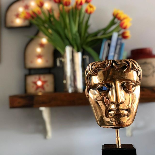 "This post is coming late but last year I was lucky enough to produce an incredible film called ""What Do You Mean I Can't Change The World?"", which was awarded a BAFTA! Huge thanks to TrueTube and Adam Tyler for submitting the film and nominating me as a producer. A very cool thing to have in the flat! #bafta #documentary #TrueTube"