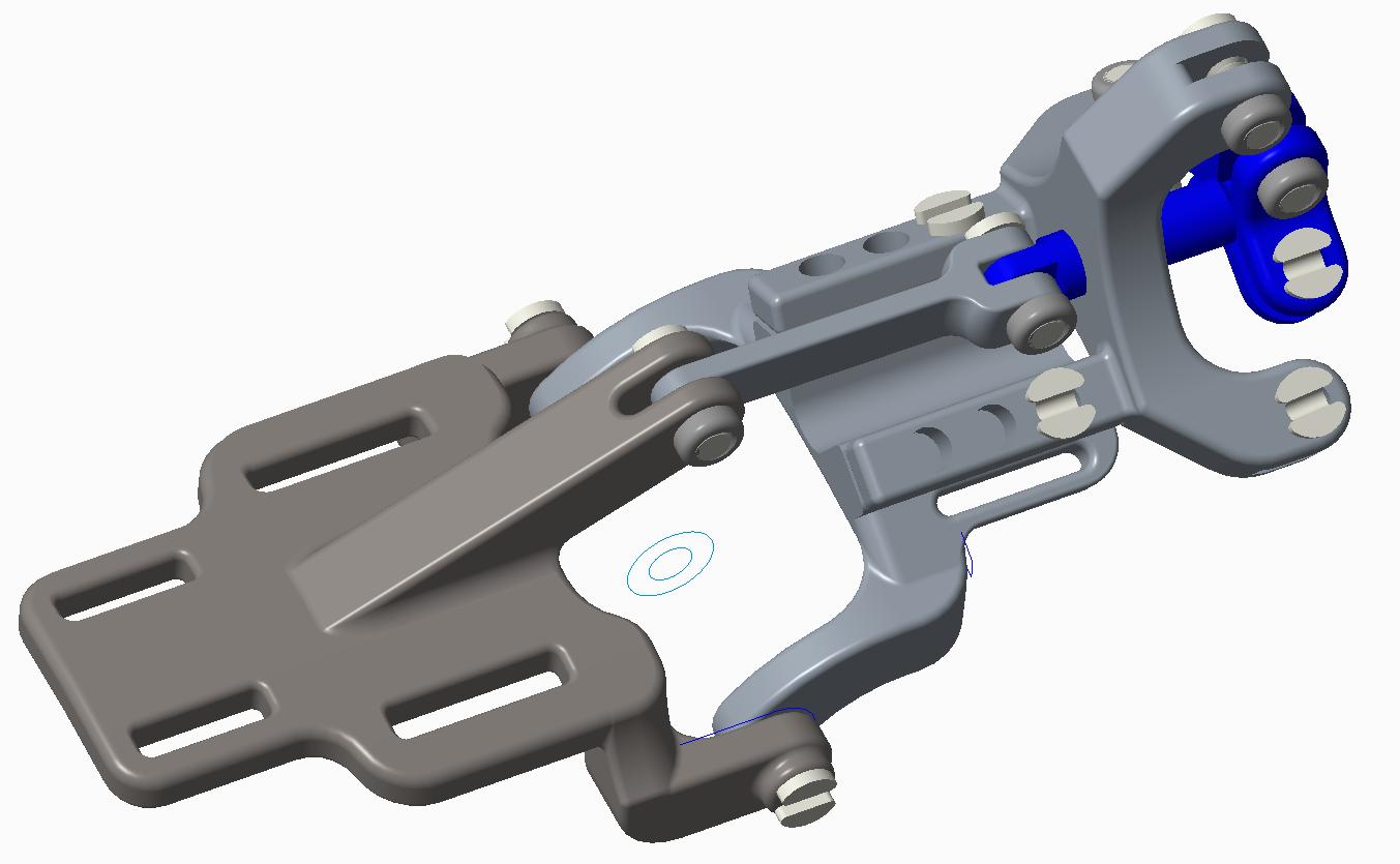 Black Ram Hand -Mark IV (Slider and Linkage Mechanism)