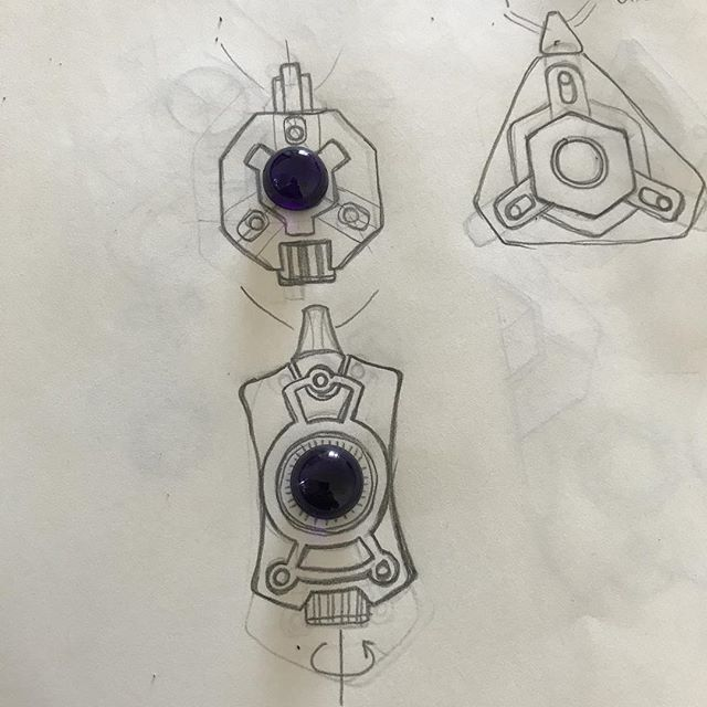 Working on some #amethyst #cabochon pendant designs. #gemtech #blackramindustries #silver #pendant #jewellery #jewelry