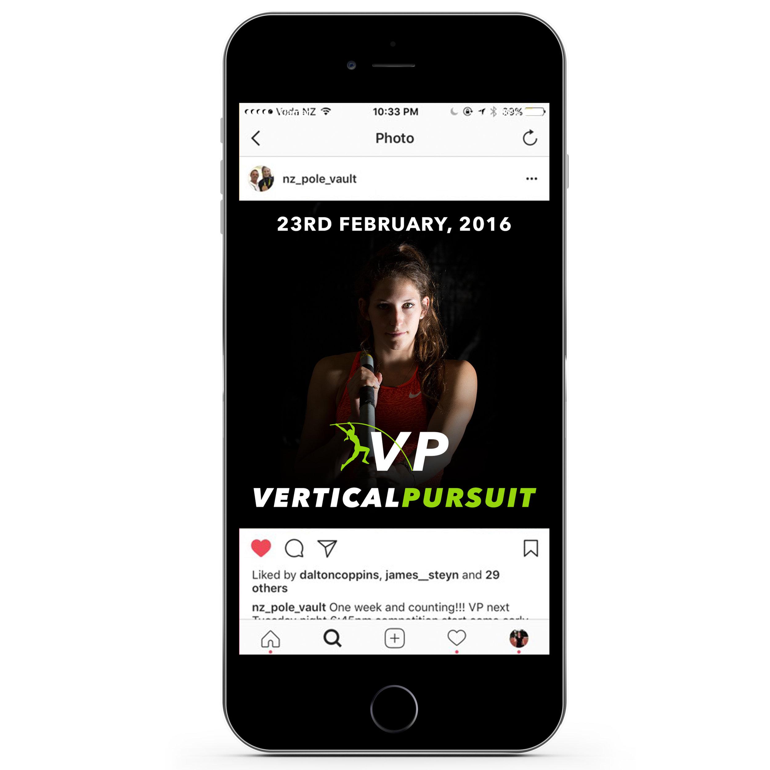 Instagram post by New Zealand Pole Vault