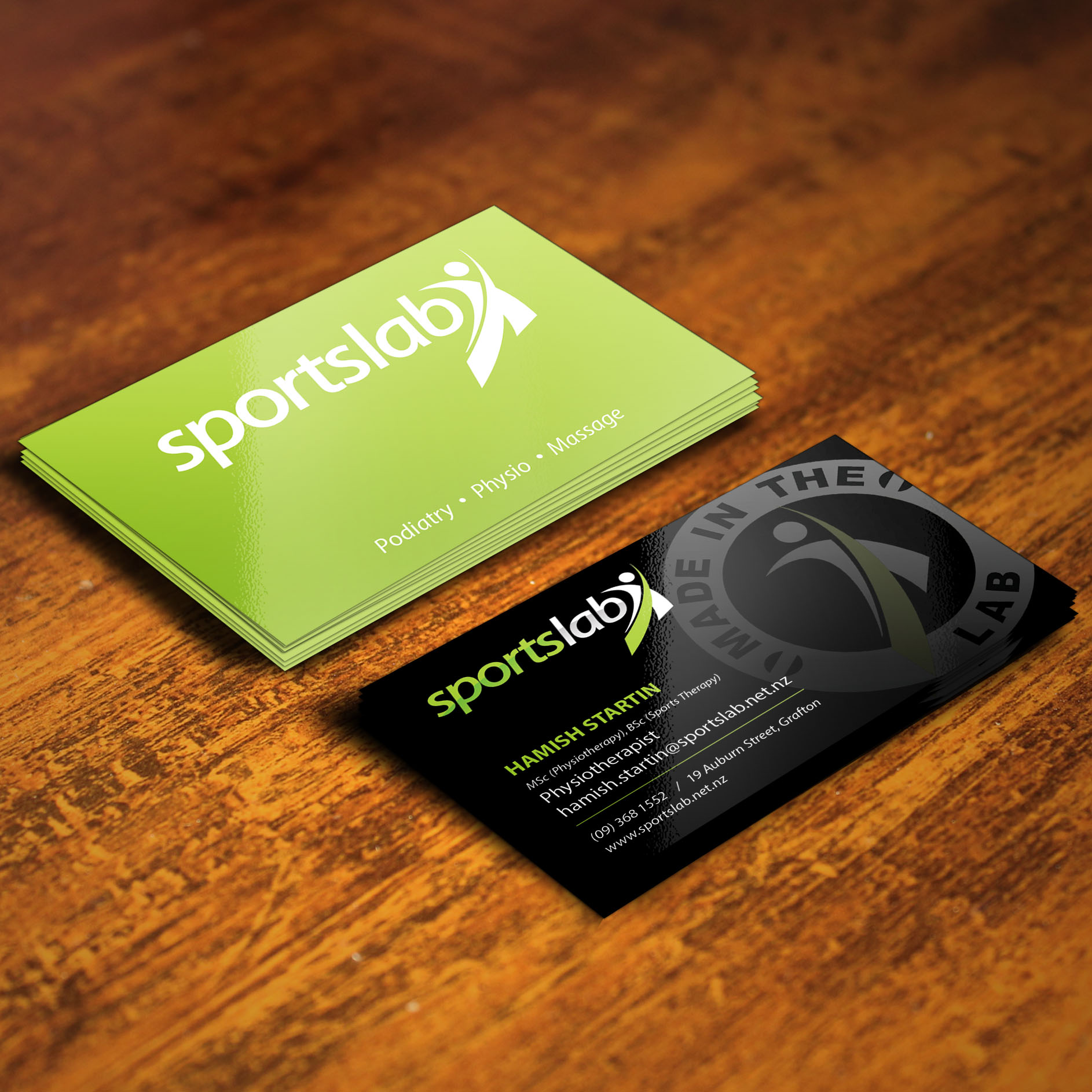 Sports Lab Rehabilitation   - Various marketing material designed for Sports Lab: A high end Rehab and Biomechanics Sports Clinic based in Auckland, New Zealand.