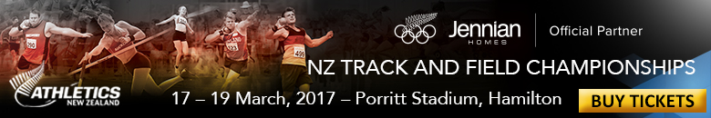 Email signature for Athletics New Zealand Staff for 3 weeks prior